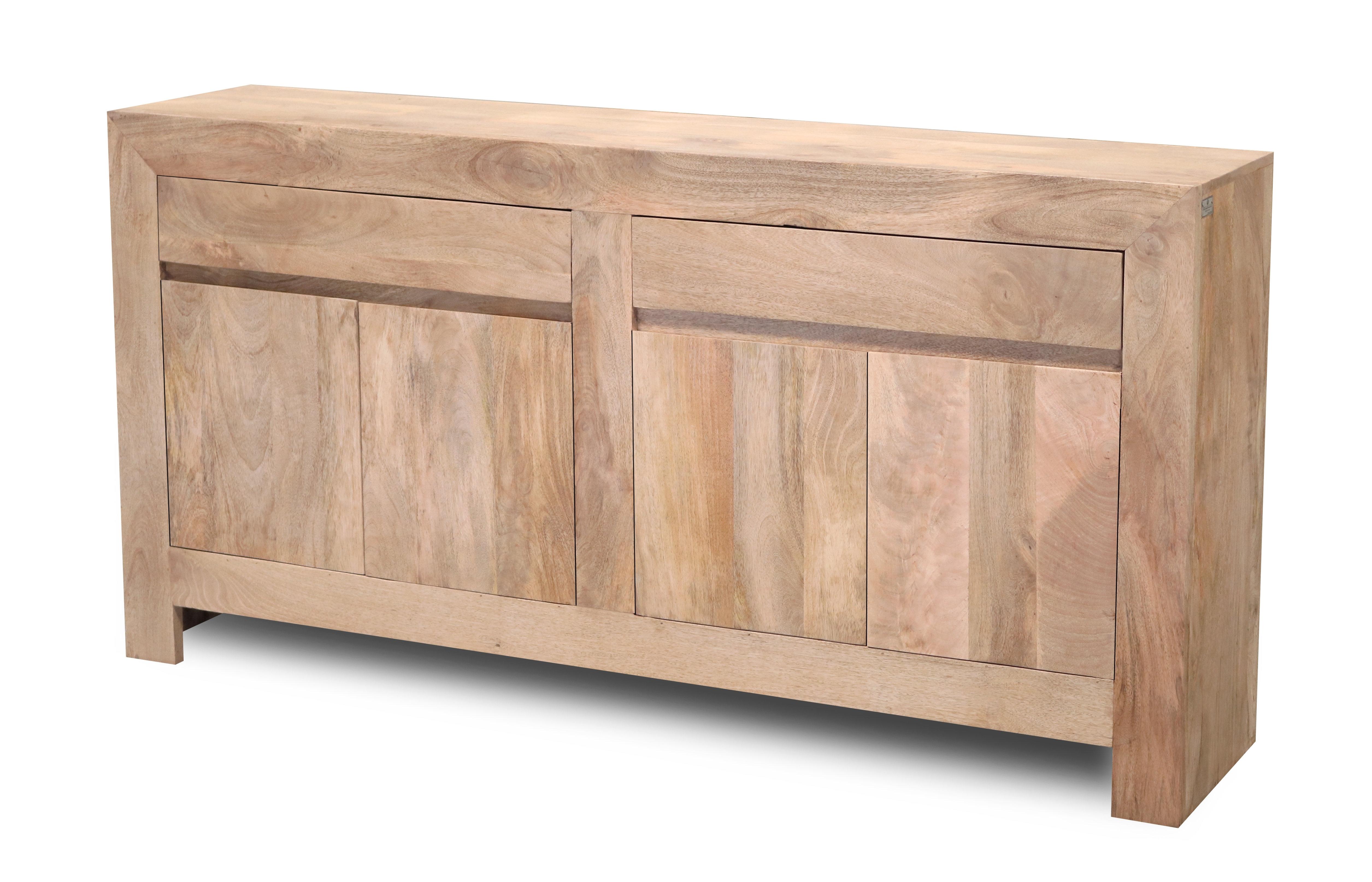 Unodesign Verona 4 Door 2 Drawer Sideboard | Wayfair.co.uk pertaining to Mango Wood 2-Door/2-Drawer Sideboards (Image 29 of 30)