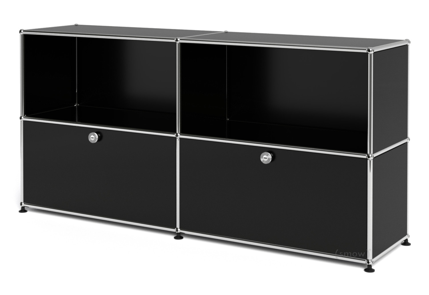 Usm Haller Sideboard L With 2 Drop-Down Doorsfritz Haller & Paul for Girard 4 Door Sideboards (Image 25 of 30)