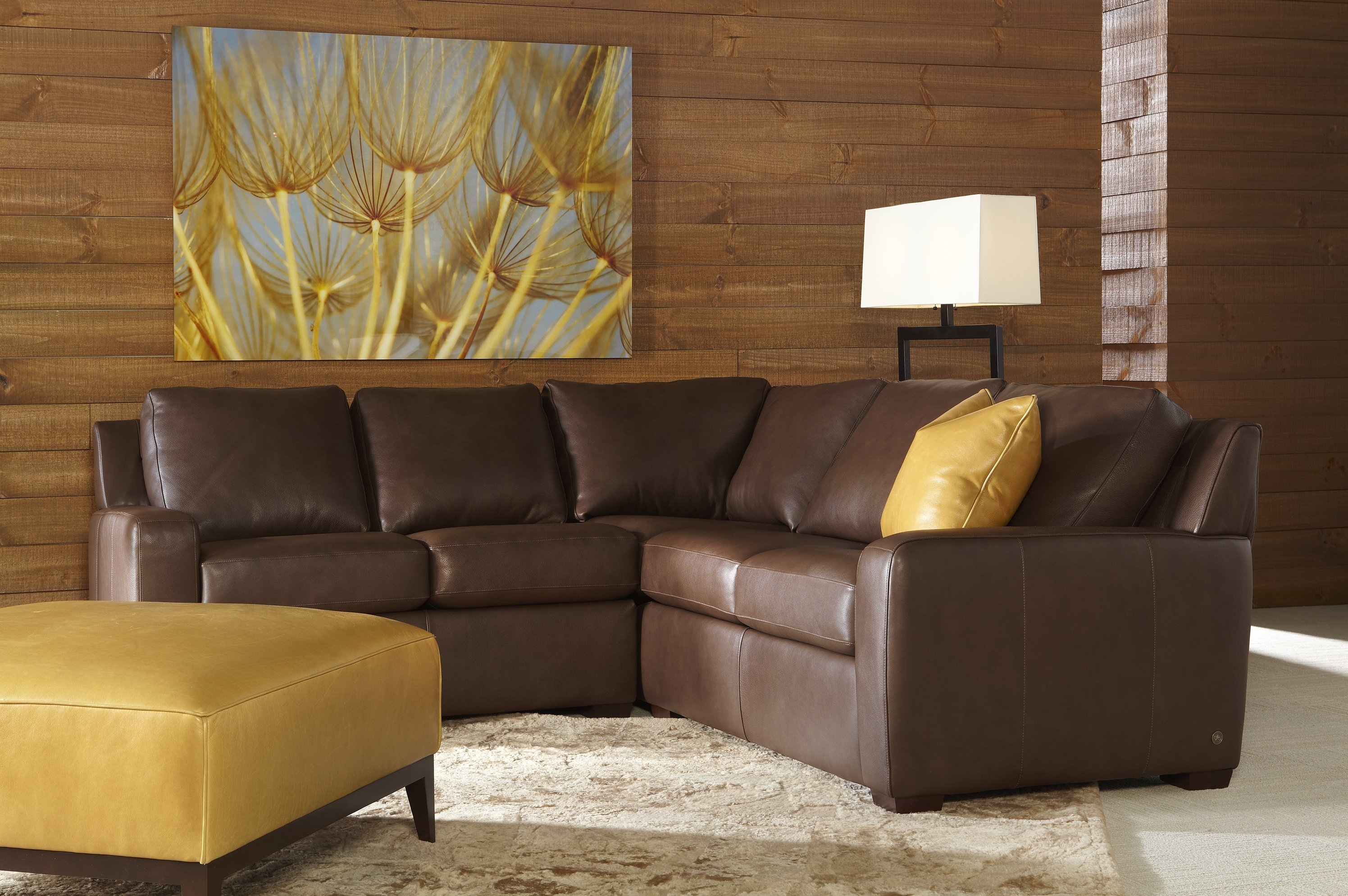 Vast 25 Genuine Leather Reclining Sectional Ideal with Burton Leather 3 Piece Sectionals With Ottoman (Image 28 of 30)