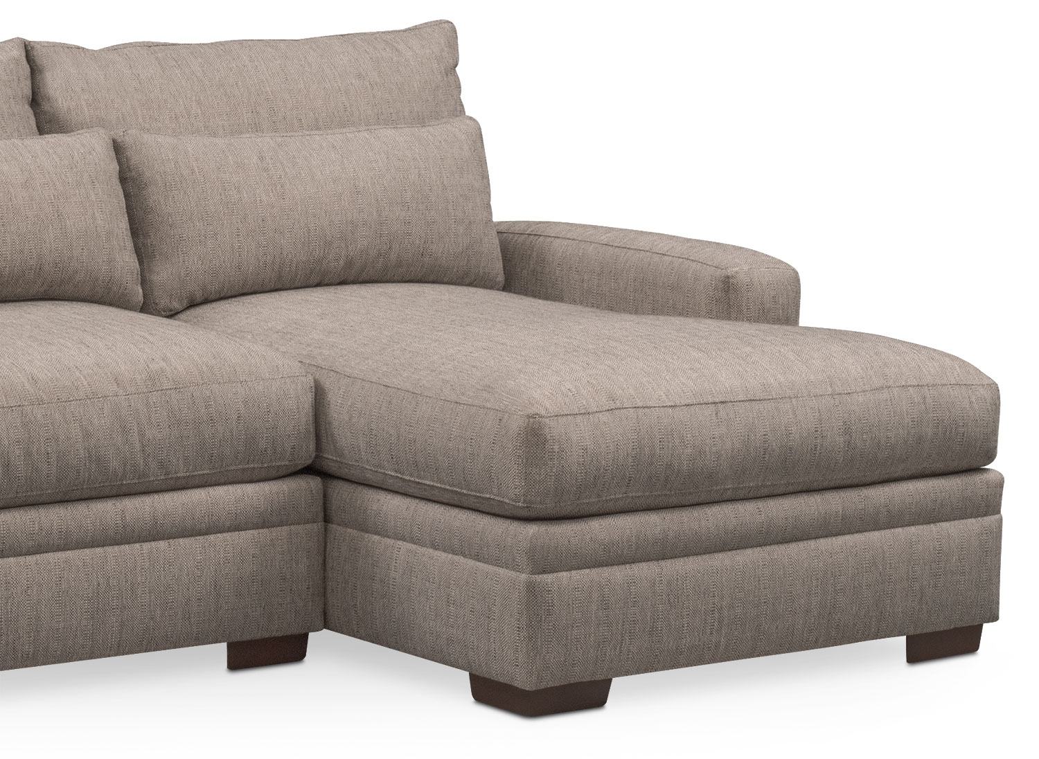 Vcf Sofa Chaise | Baci Living Room for Mcdade Graphite 2 Piece Sectionals With Laf Chaise (Image 25 of 30)