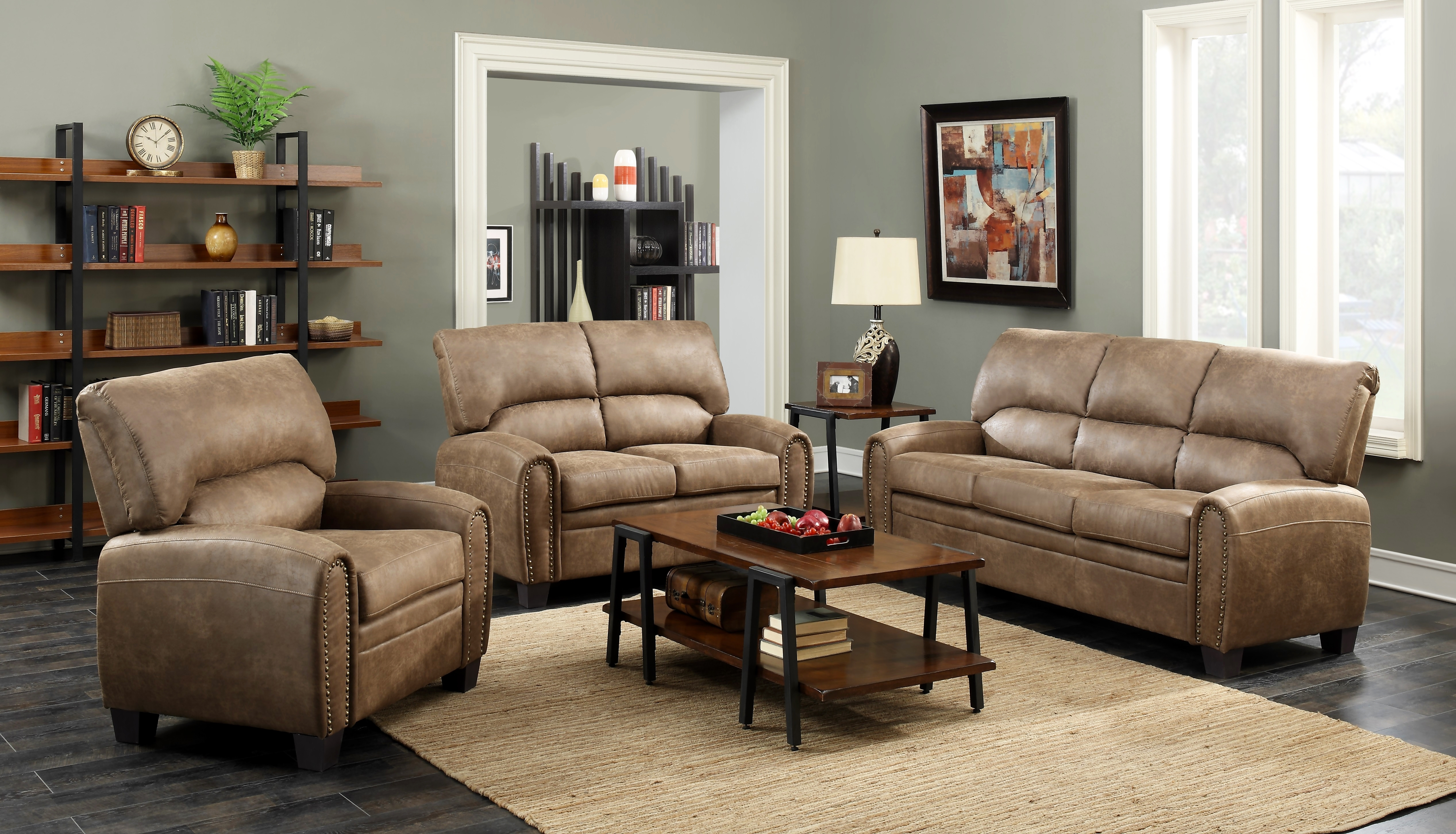 Vcf Sofa Chaise | Baci Living Room intended for Mcdade Graphite 2 Piece Sectionals With Raf Chaise (Image 27 of 30)