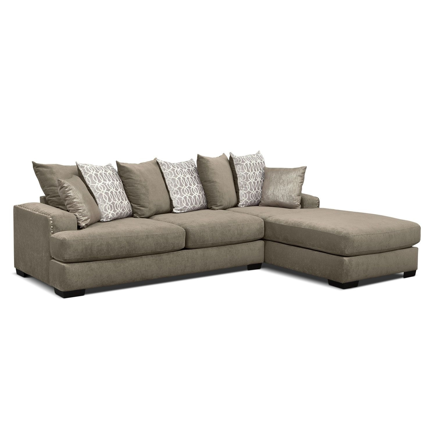 Vcf Sofa Chaise | Baci Living Room with regard to Mcdade Graphite 2 Piece Sectionals With Laf Chaise (Image 27 of 30)