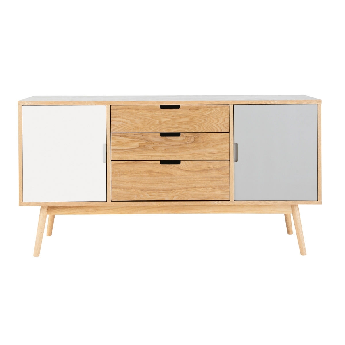 Vintage 2-Door 3-Drawer Sideboard | Maisons Du Monde regarding Antique Walnut Finish 2-Door/4-Drawer Sideboards (Image 29 of 30)