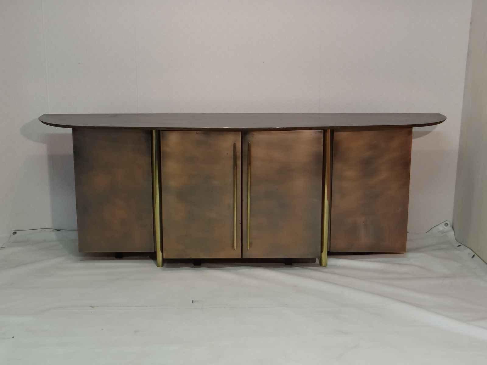 Vintage Brass Sideboard From Belgo Chrom For Sale At Pamono for Aged Brass Sideboards (Image 27 of 30)