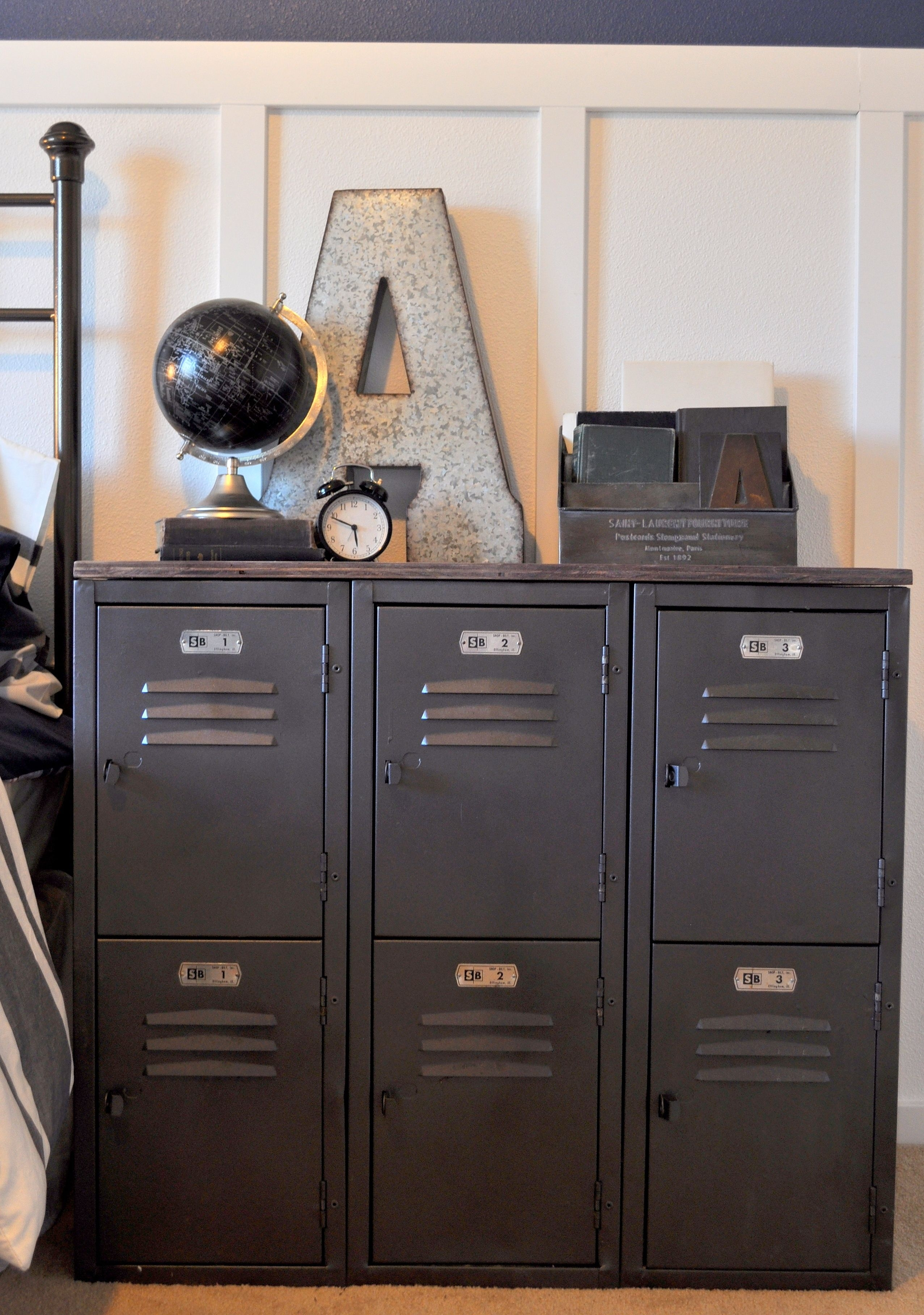 Vintage Locker Rehab Follow On Instagram @aundraskinner #lockers In intended for Magnolia Home Dylan Sideboards By Joanna Gaines (Image 30 of 30)