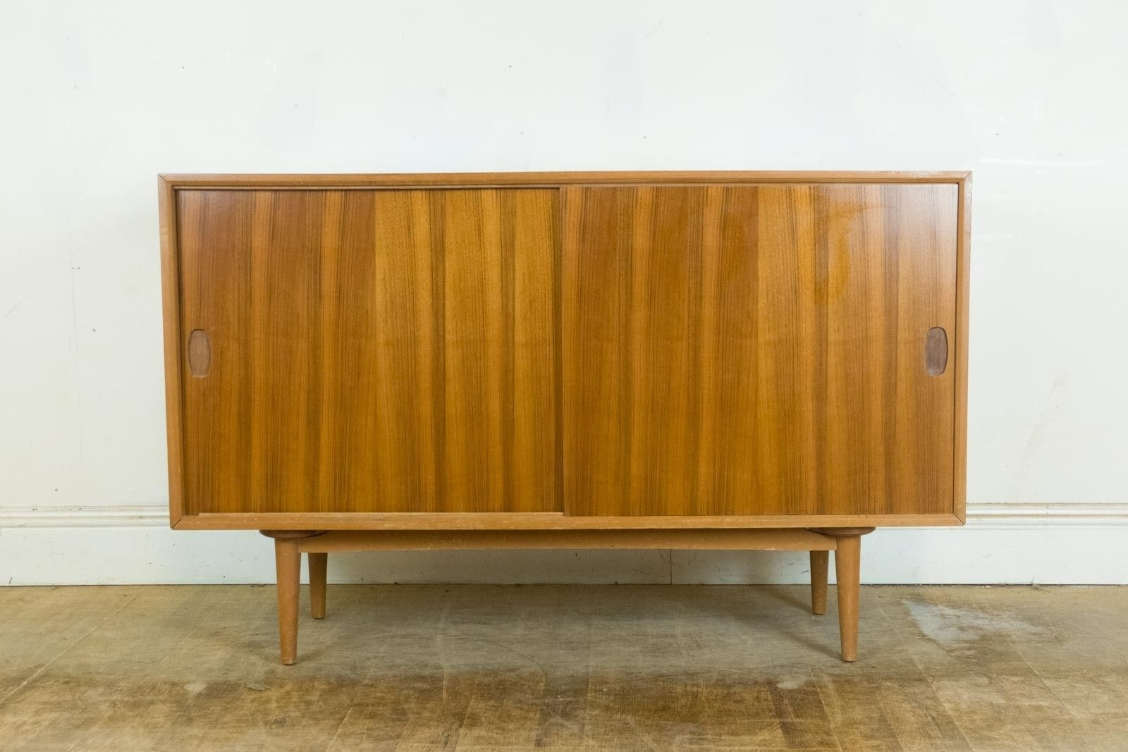Vintage Retro Heals Mid Century Small Walnut And Light Mahogany pertaining to Walnut Small Sideboards (Image 28 of 30)