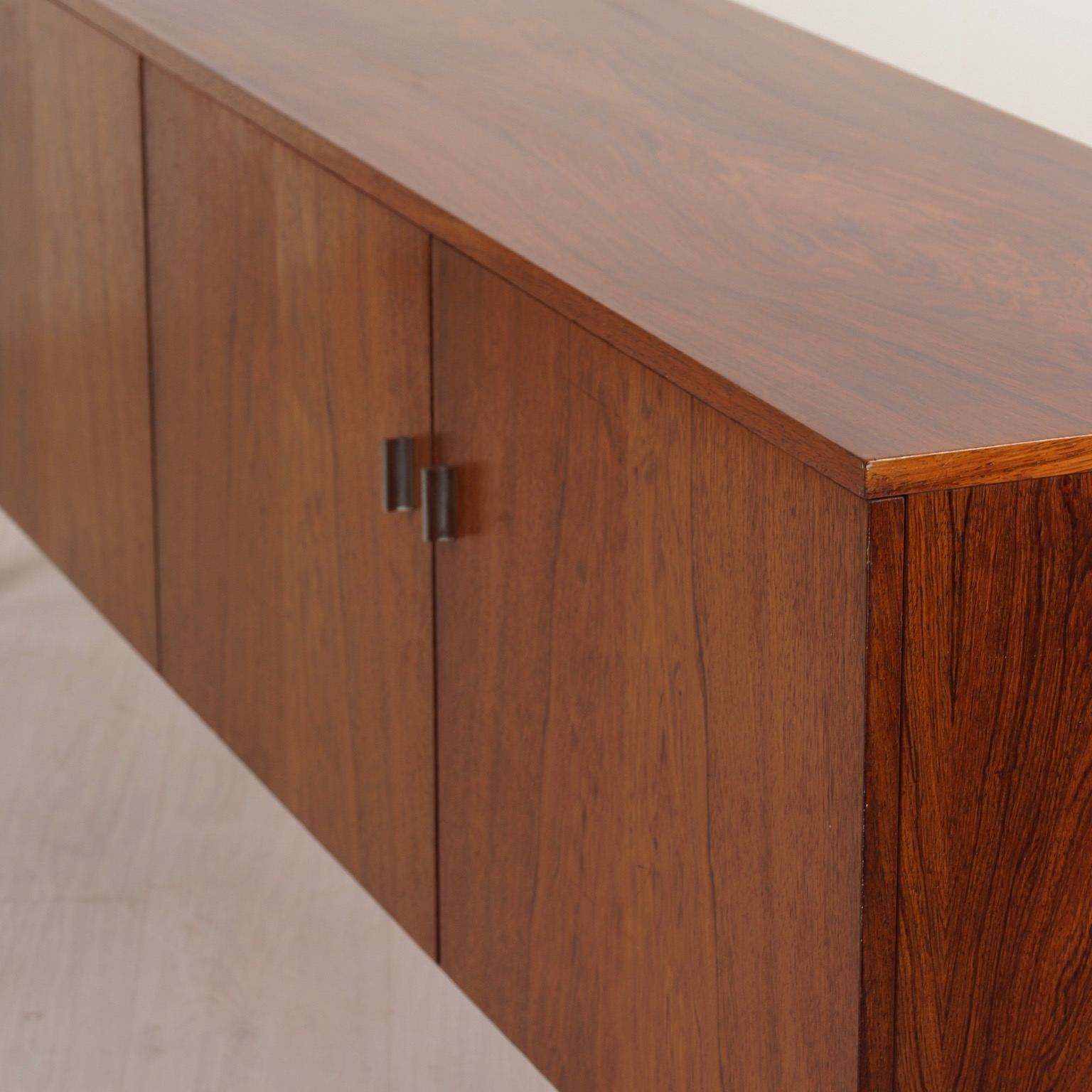 Vintage Sideboard Made Of Rosewood, 1960S - Ztijl Design with Vintage Brown Textured Sideboards (Image 26 of 30)