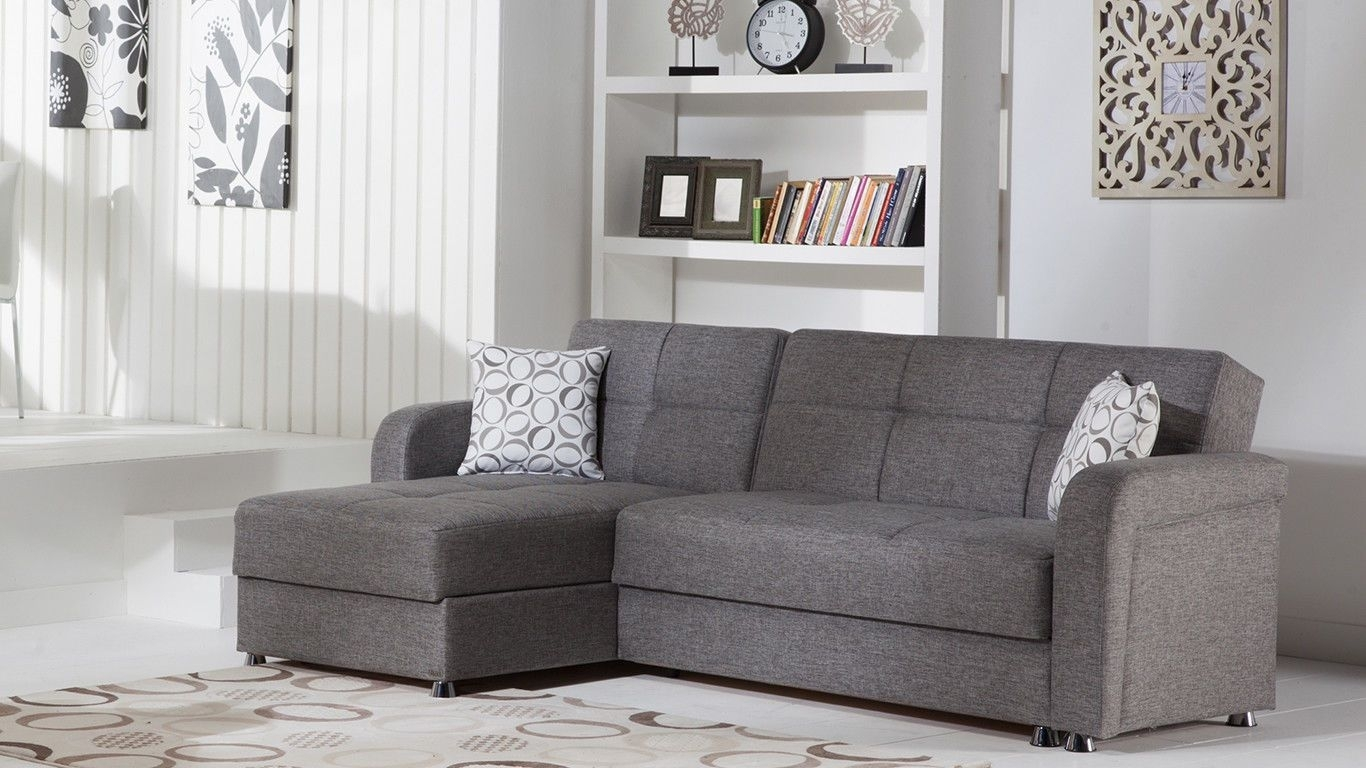 Vision Sectional Sofa | Diego Gray | Home Decor | Pinterest in Taren Reversible Sofa/chaise Sleeper Sectionals With Storage Ottoman (Image 29 of 30)