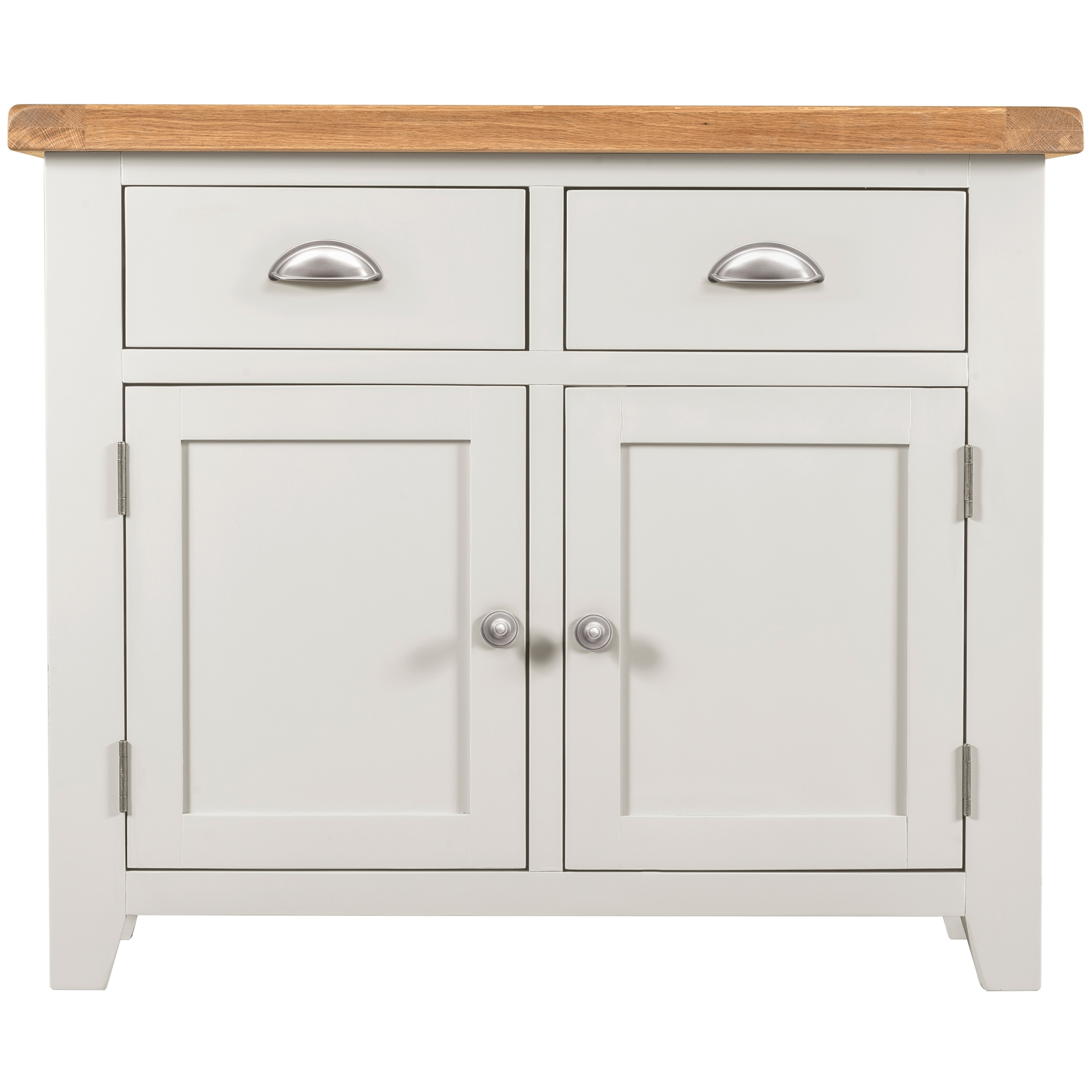 Willow White 2 Door 2 Drawer Sideboard | The Haven Home Interiors Regarding 2 Drawer Sideboards (Photo 8 of 30)