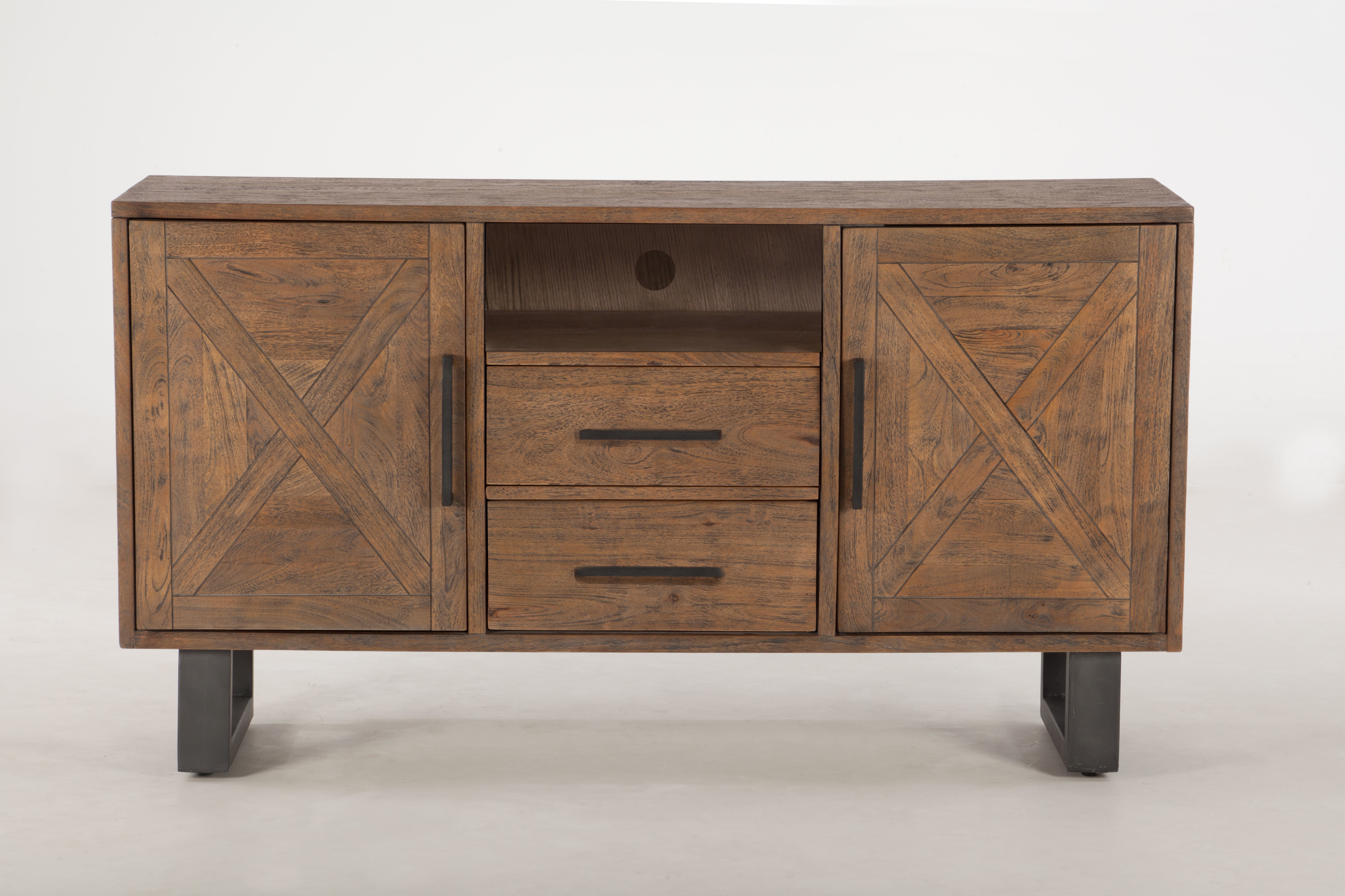 World Interiors Costa Mesa Mango Wood Sideboard | Wayfair throughout Natural Mango Wood Finish Sideboards (Image 30 of 30)