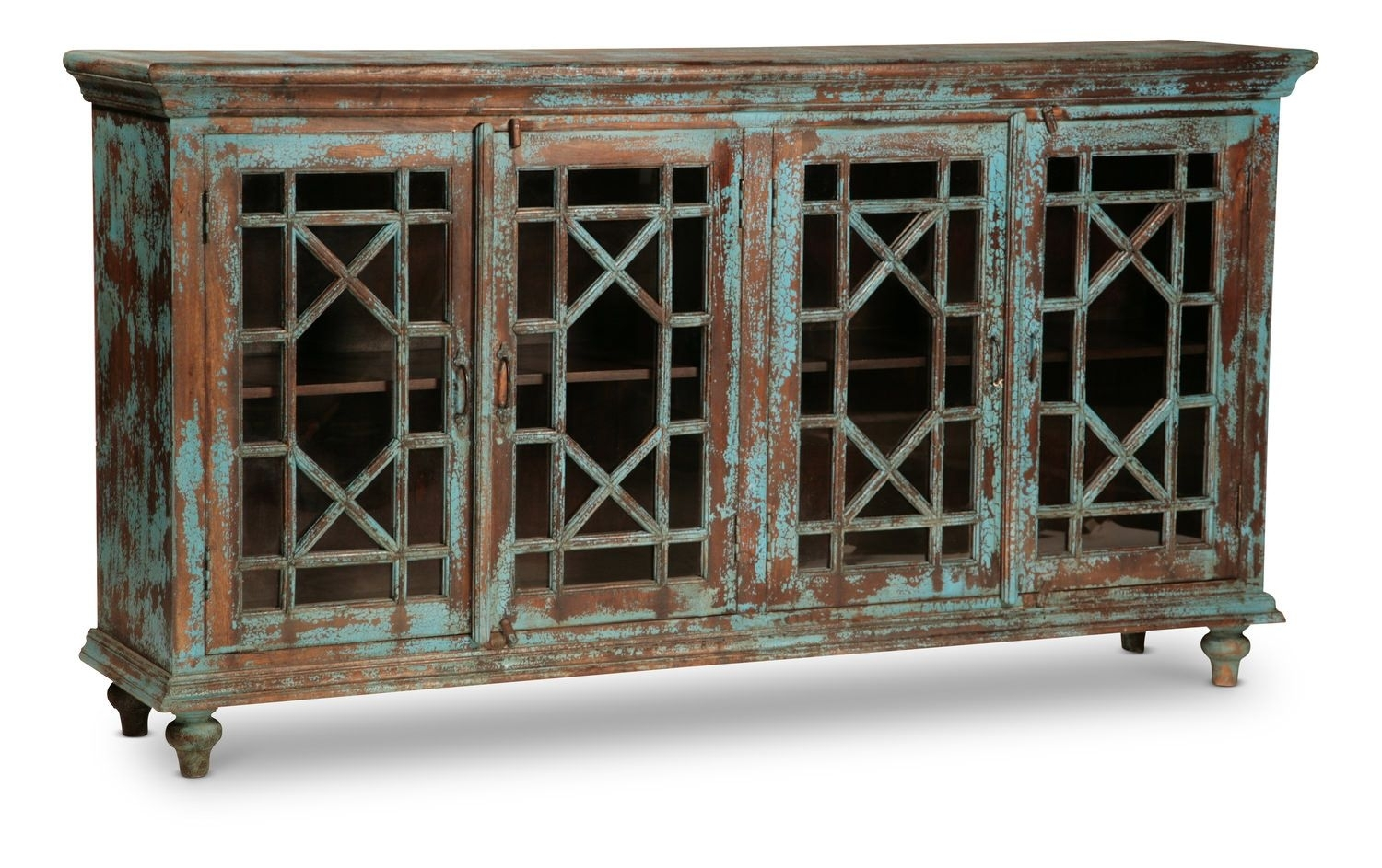 Zamora 4 Door Sideboard | Uptown Urban Furnishings | Pinterest for Vintage Finish 4-Door Sideboards (Image 30 of 30)