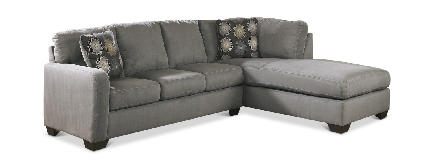 Zella 2 Piece Modular Sectional | Dock86 regarding Cosmos Grey 2 Piece Sectionals With Laf Chaise (Image 30 of 30)