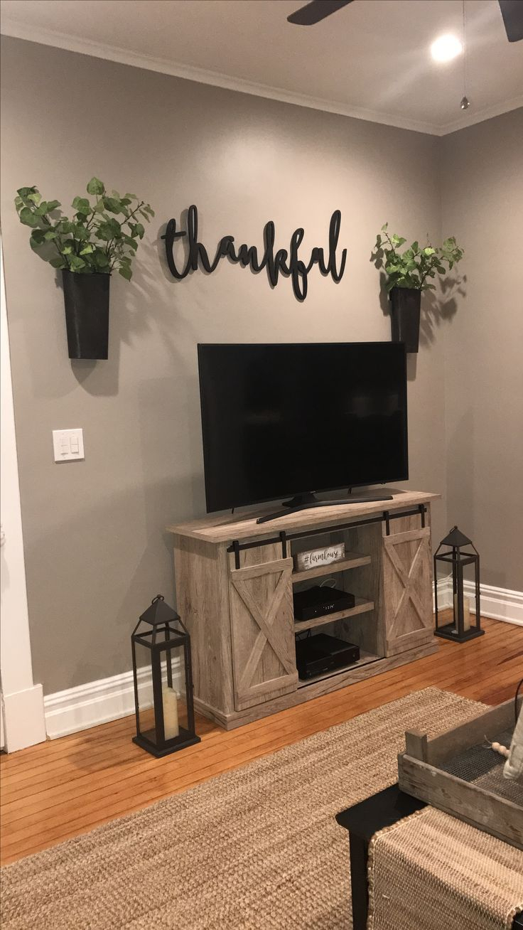 1066 Best Chip & Joanna Style Images On Pinterest | Apartments Intended For Kilian Grey 74 Inch Tv Stands (Gallery 21 of 30)