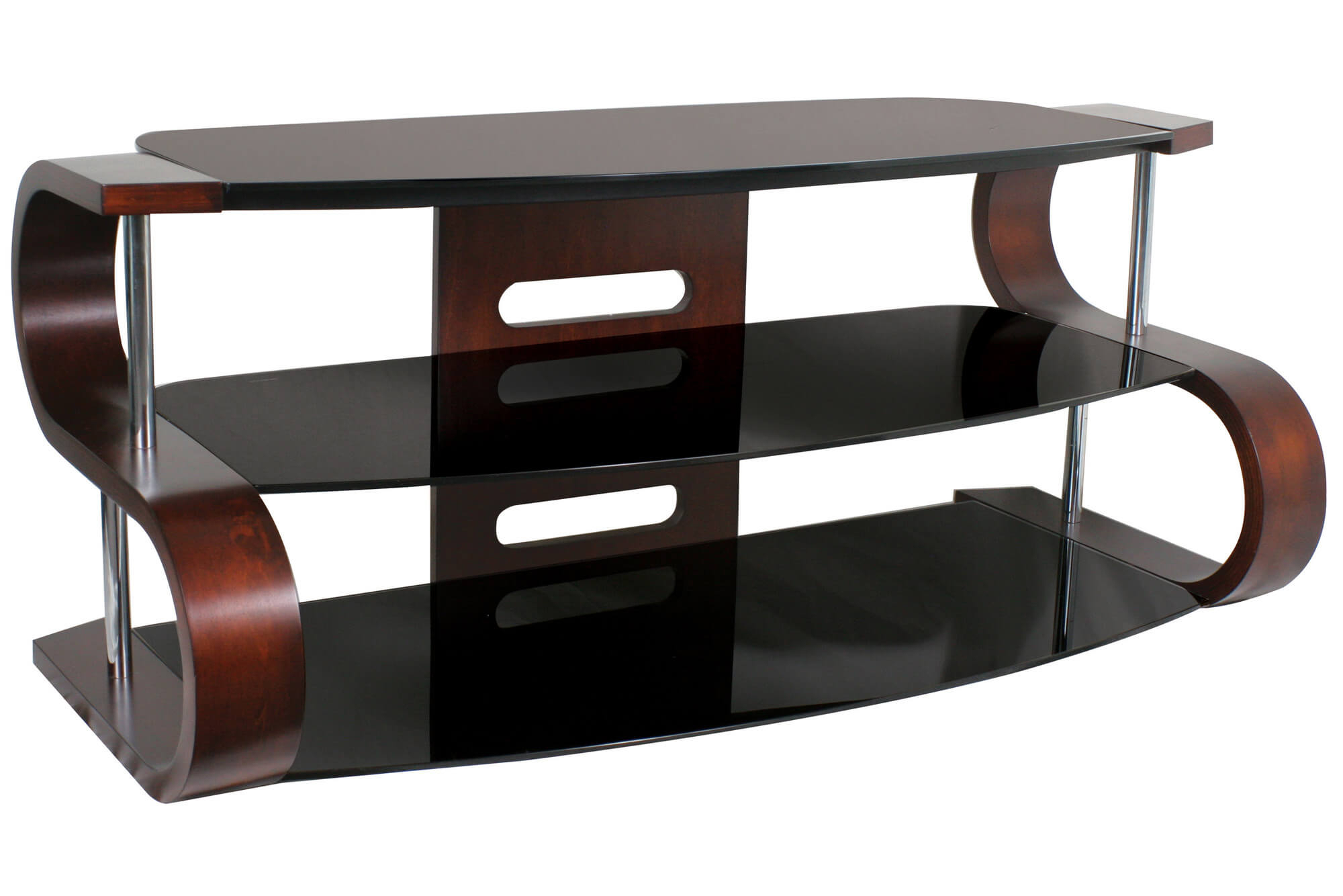 16 Types Of Tv Stands (Comprehensive Buying Guide) Pertaining To Gunmetal Media Console Tables (Gallery 13 of 30)