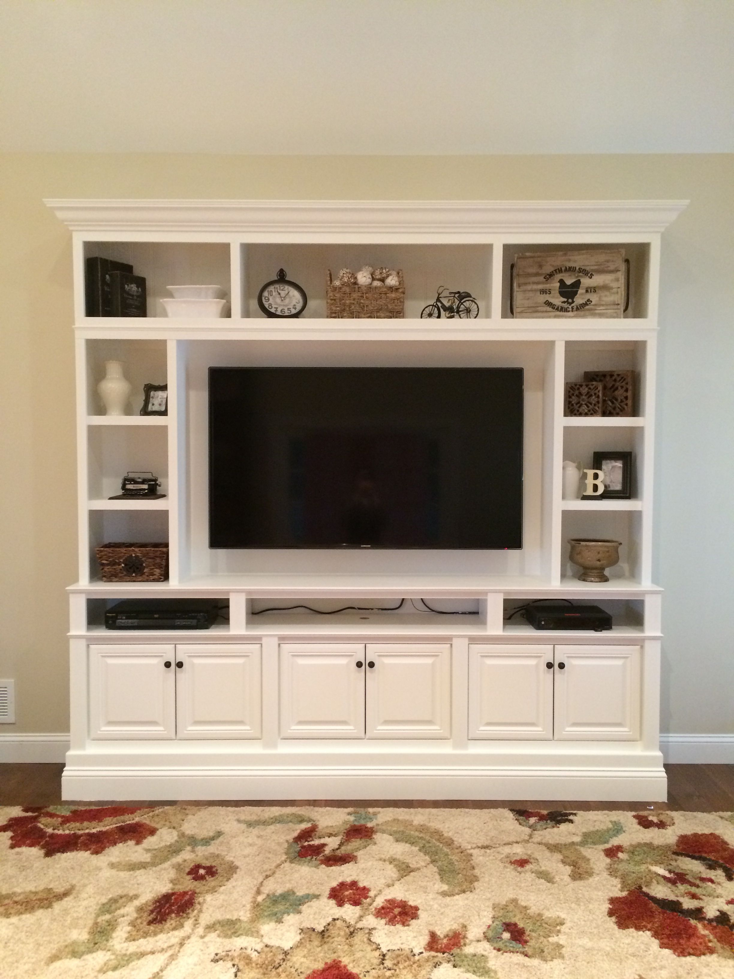 17 Diy Entertainment Center Ideas And Designs For Your New Home with Murphy 72 Inch Tv Stands (Image 1 of 30)