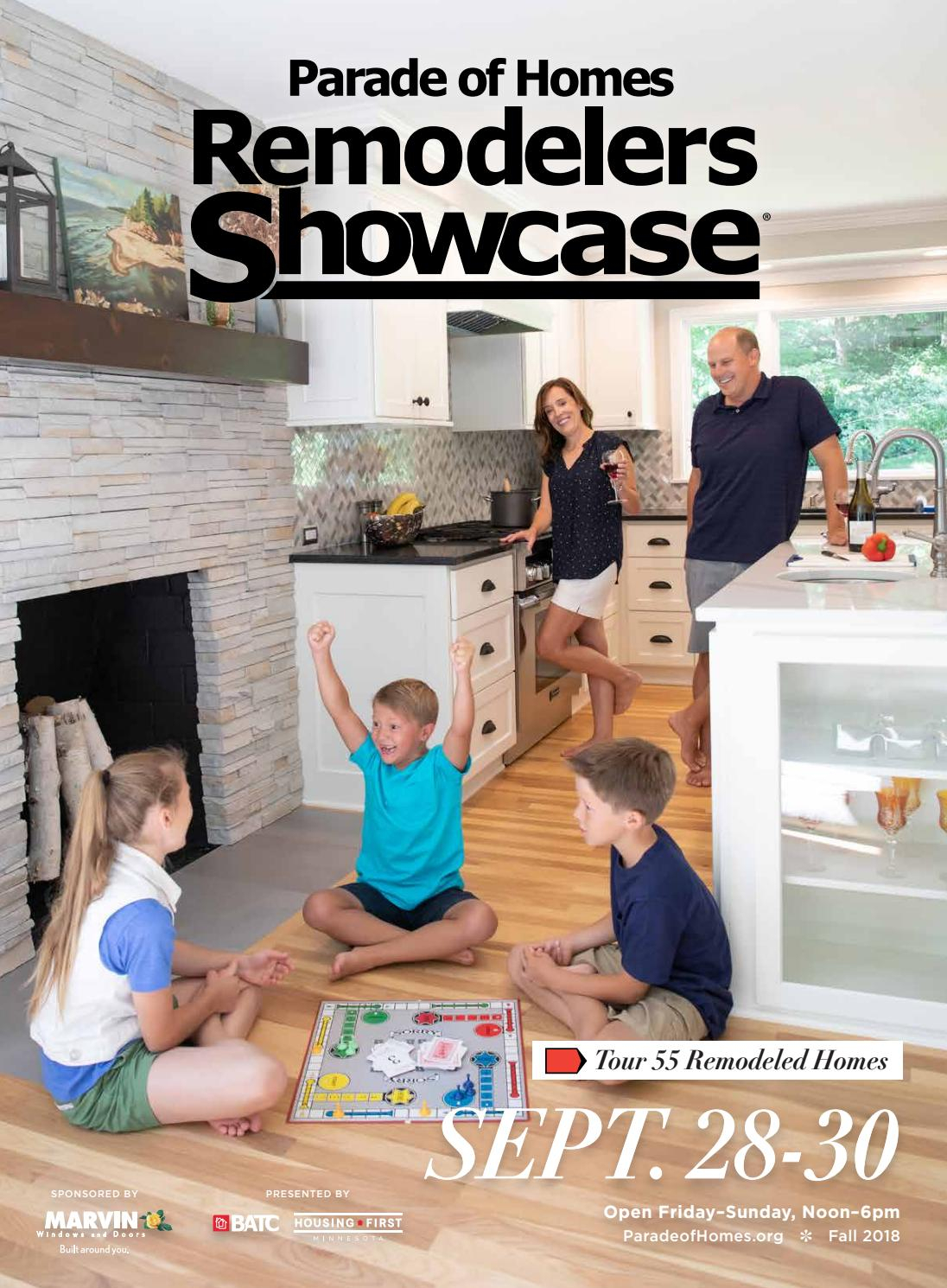 2018 Fall Parade Of Homes Remodelers Showcase® Guidebookbatc With Regard To Marvin Rustic Natural 60 Inch Tv Stands (View 24 of 30)