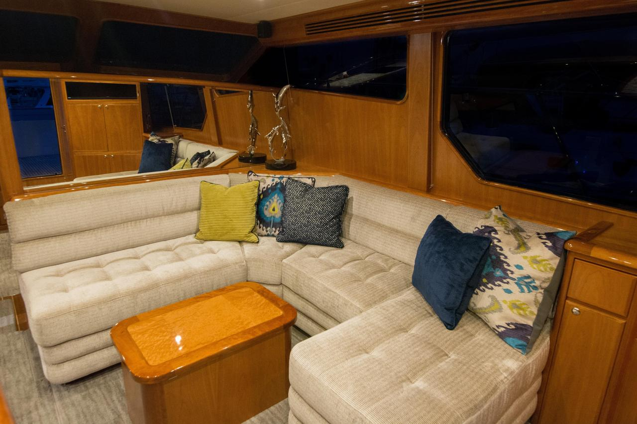2018 New Mikelson Luxury Sportfisher Sports Fishing Boat For Sale Throughout Mikelson Media Console Tables (Photo 26 of 30)