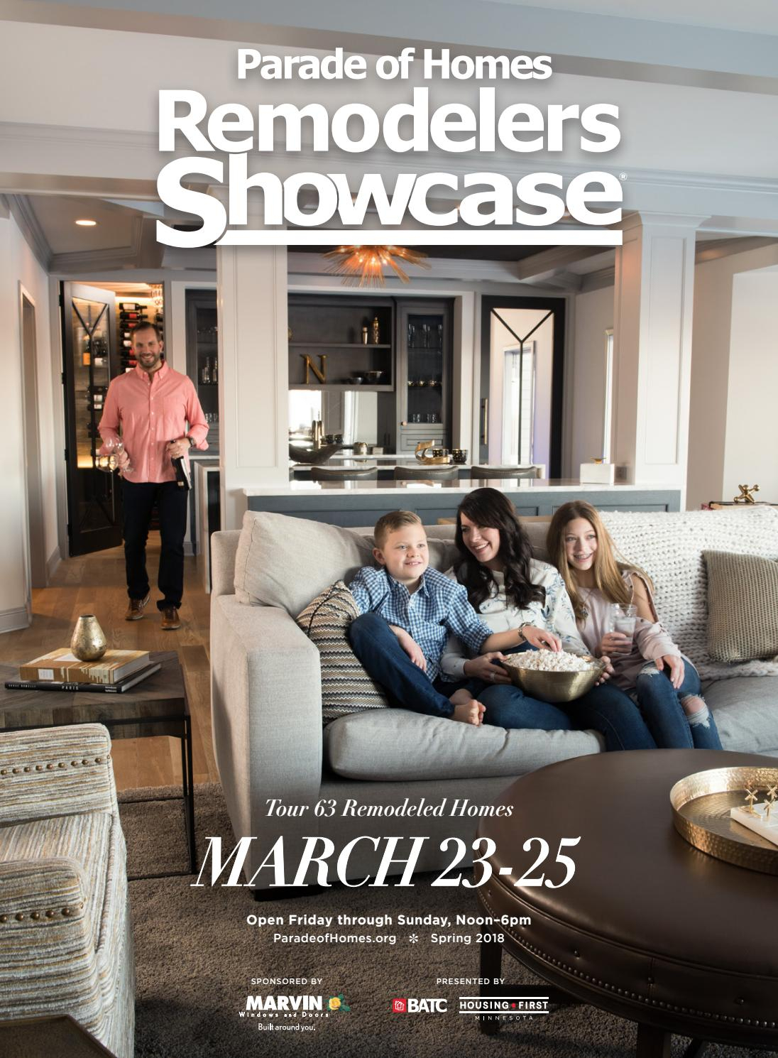 2018 Spring Parade Of Homes Remodelers Showcase® Guidebookbatc Pertaining To Marvin Rustic Natural 60 Inch Tv Stands (Photo 25 of 30)