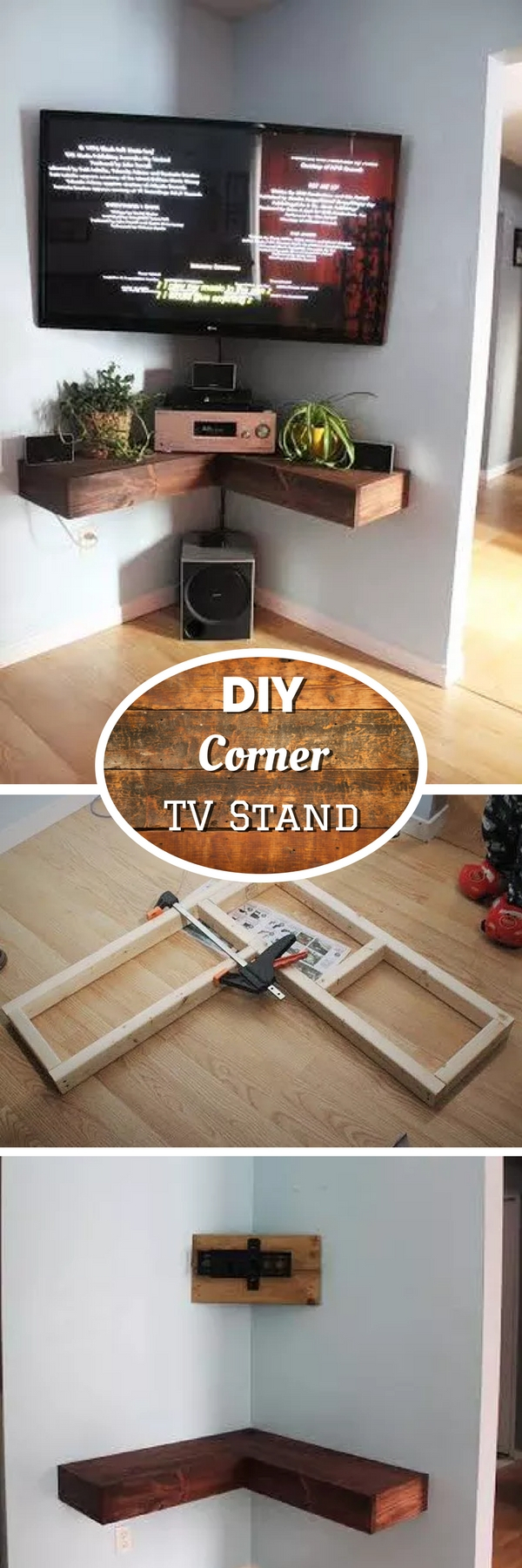 21+ Diy Tv Stand Ideas For Your Weekend Home Project In Tobias Media Console Tables (Gallery 15 of 30)