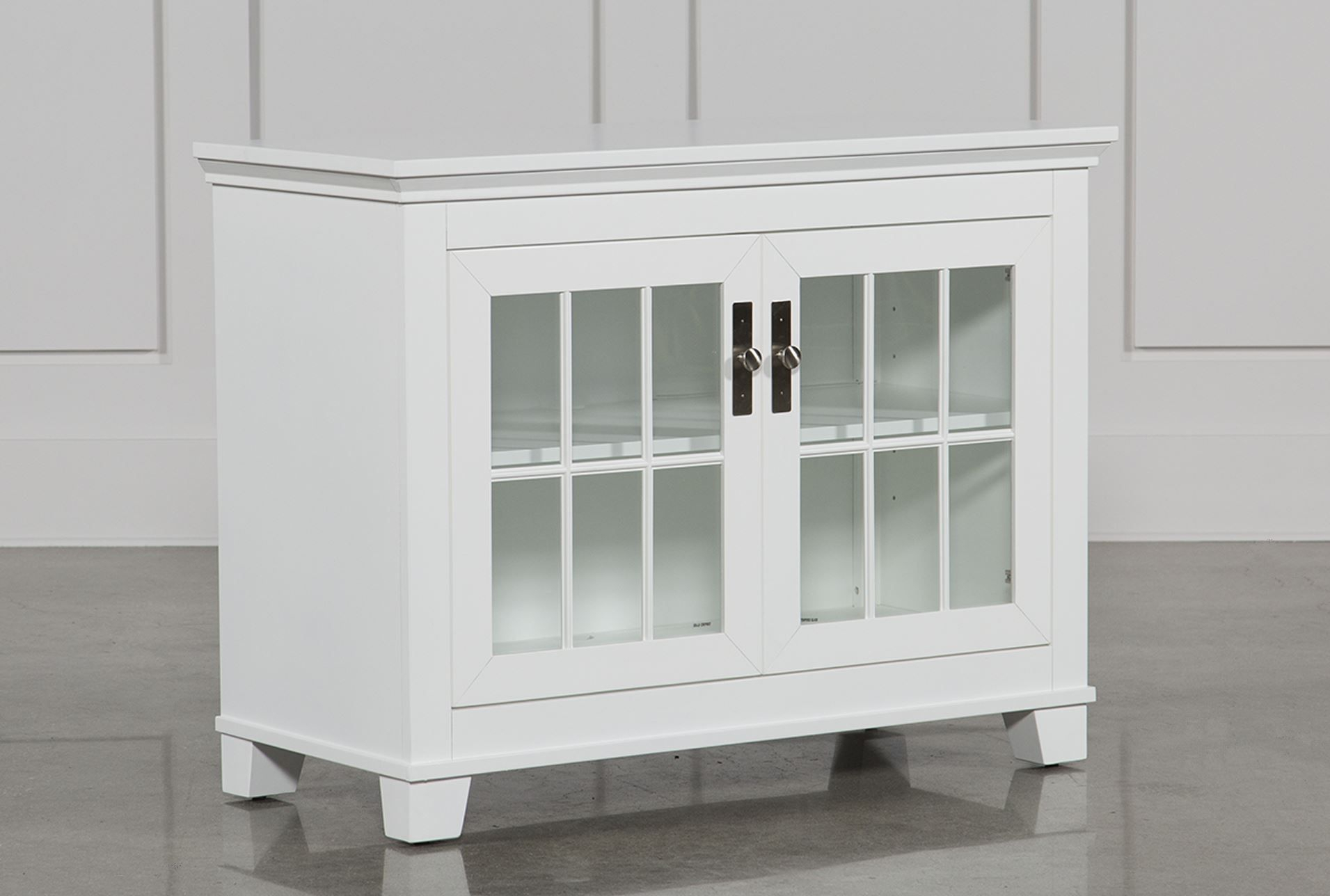 295 Living Hamden White 43 Inch Tv Console | Playroom | Pinterest intended for Sinclair Grey 54 Inch Tv Stands (Image 1 of 30)
