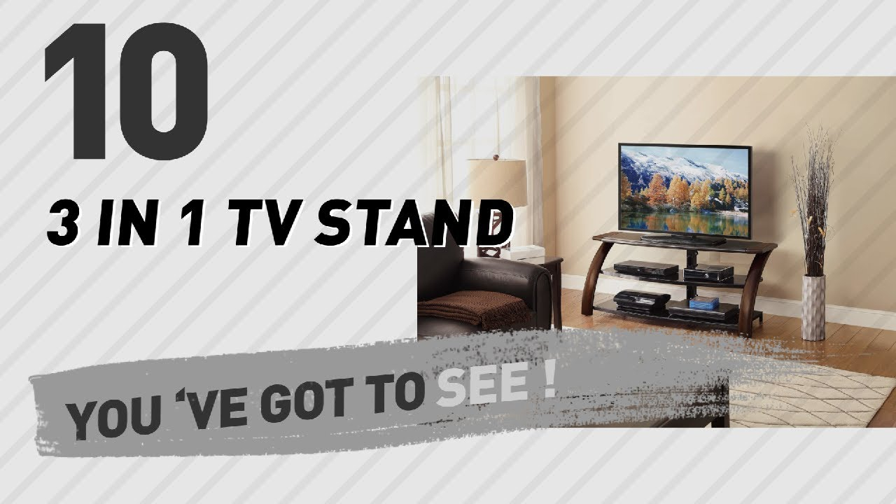 3 In 1 Tv Stand // New & Popular 2017 - Youtube inside Jaxon 65 Inch Tv Stands (Image 4 of 30)