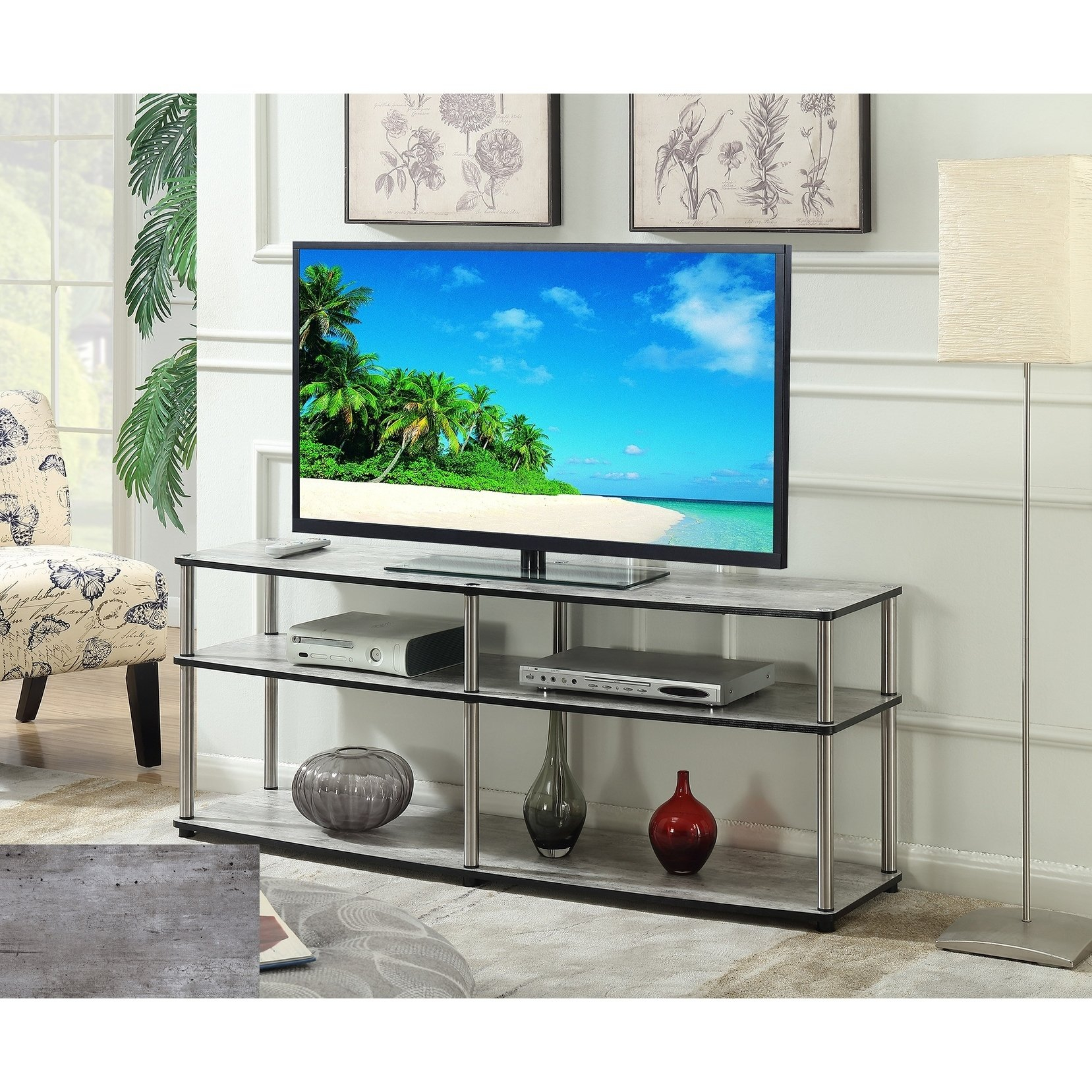 3 Tv Stands & Entertainment Centers For Less | Overstock With Rowan 45 Inch Tv Stands (View 13 of 30)