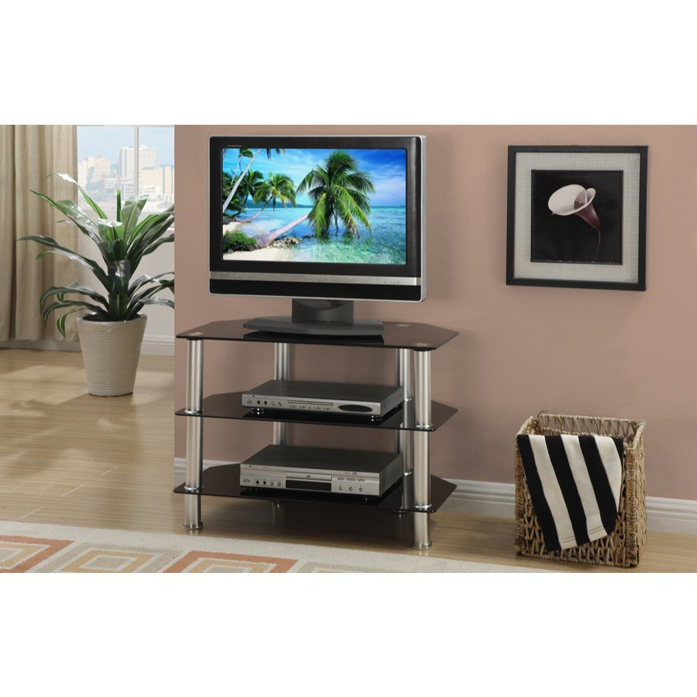 36 Inch Tall Tv Stand | Wayfair Within Edwin Black 64 Inch Tv Stands (Photo 7 of 30)