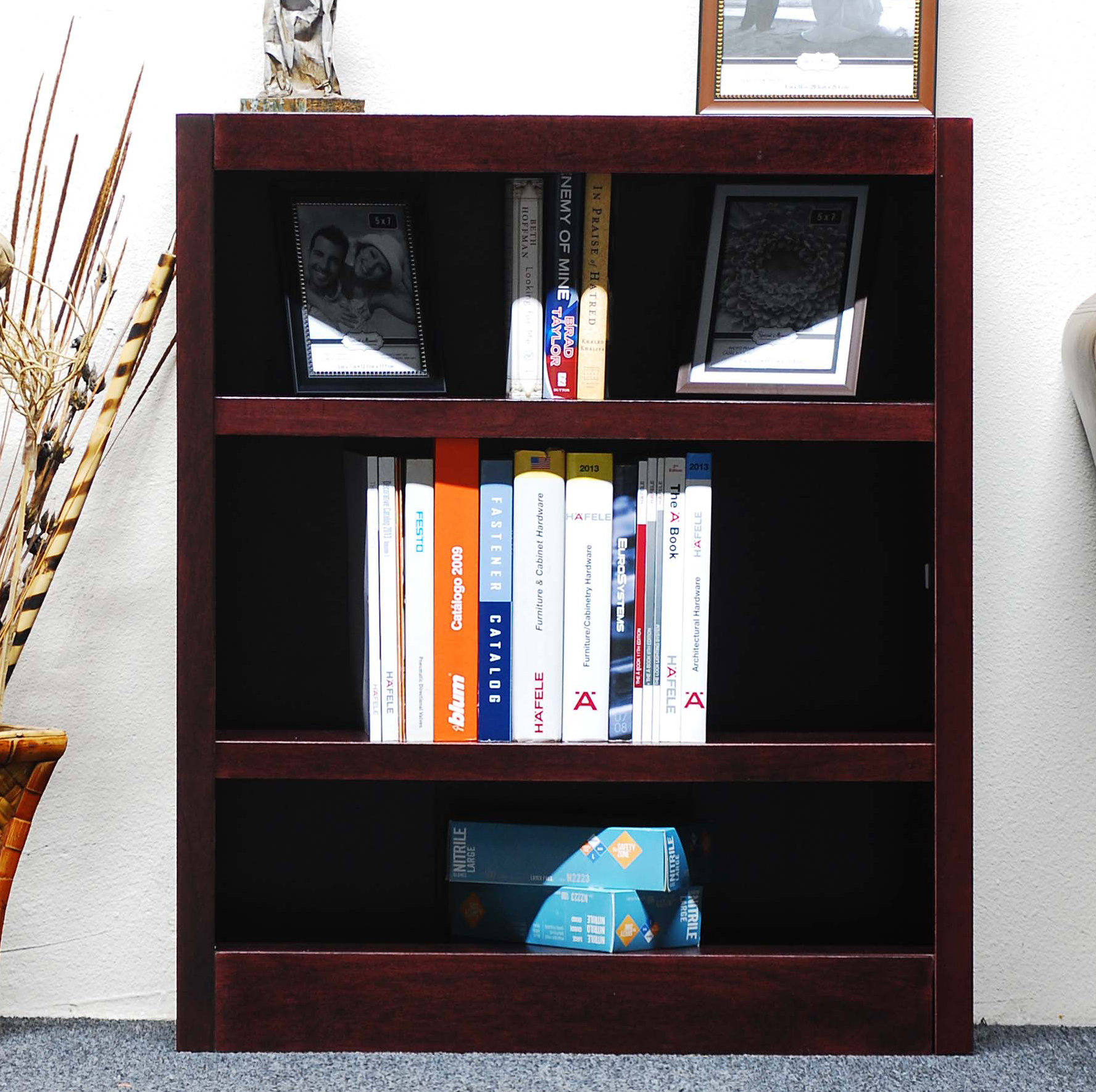 36 Inch Wide Bookcase | Wayfair Intended For Jaxon 71 Inch Tv Stands (Image 2 of 30)