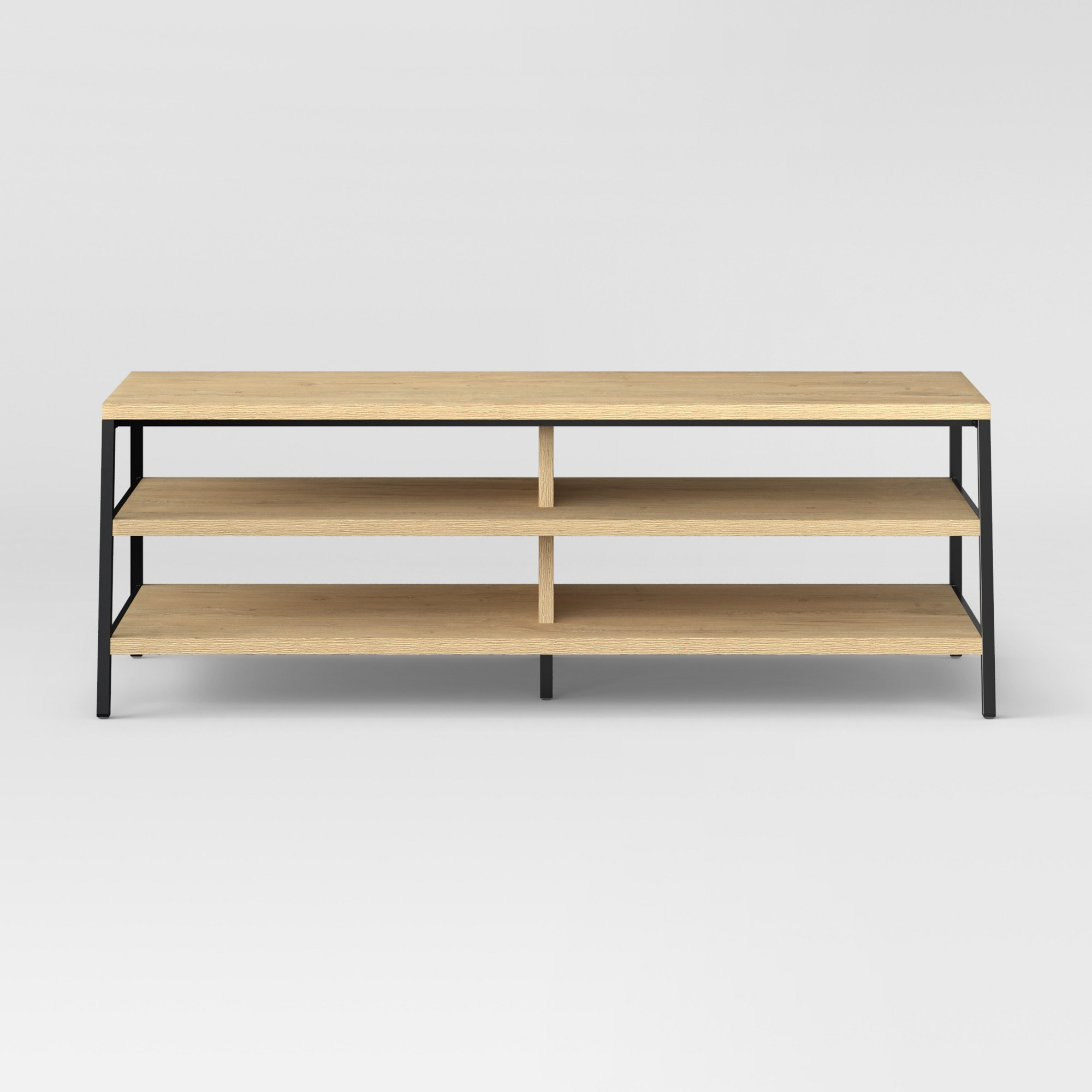 55 Loring Media Stand Vintage Oak - Project 62 | Products | Living with regard to Oak & Brass Stacking Media Console Tables (Image 1 of 30)