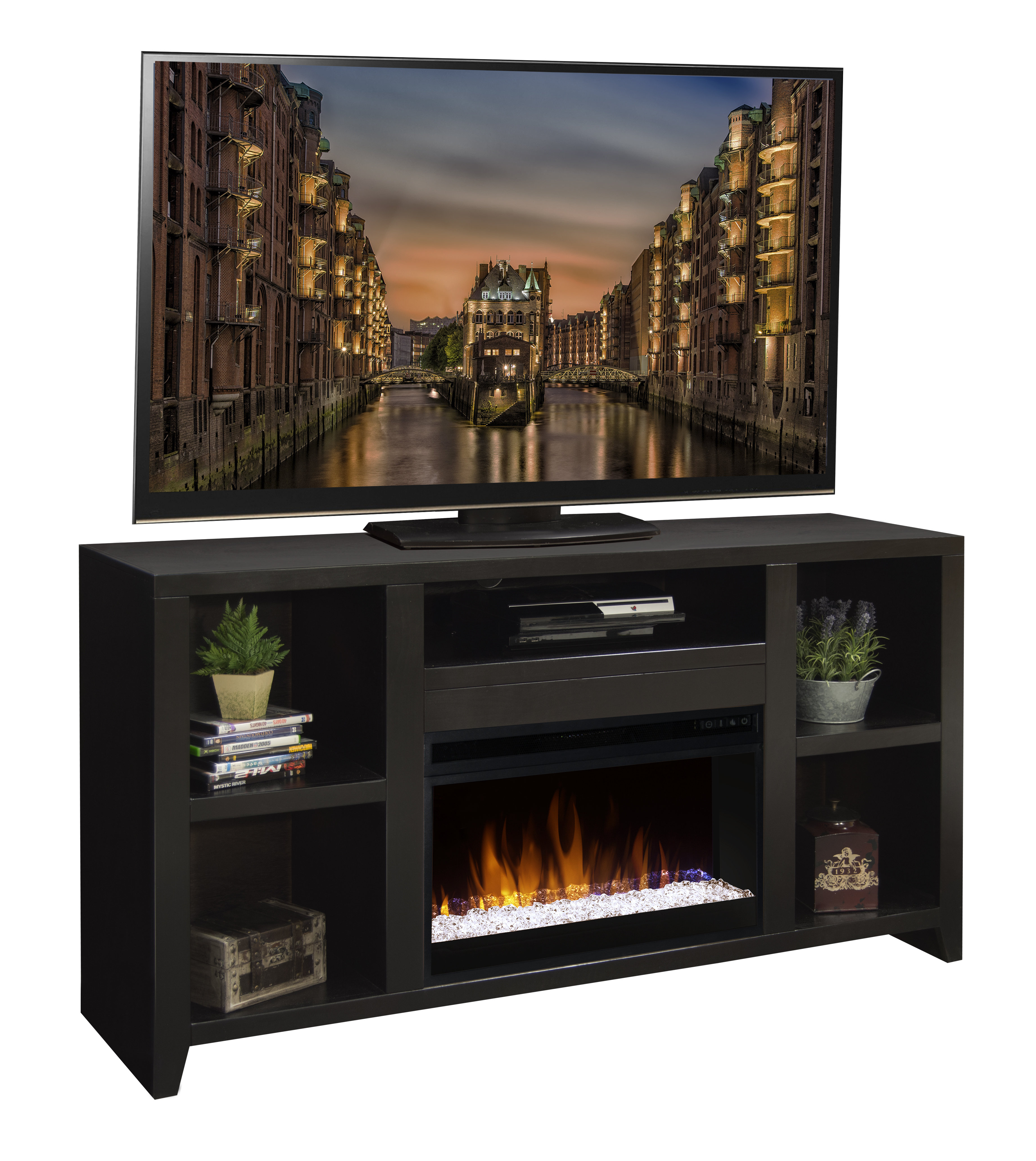 60-69 Inch Tv Stand Fireplaces You'll Love | Wayfair pertaining to Caden 63 Inch Tv Stands (Image 2 of 30)