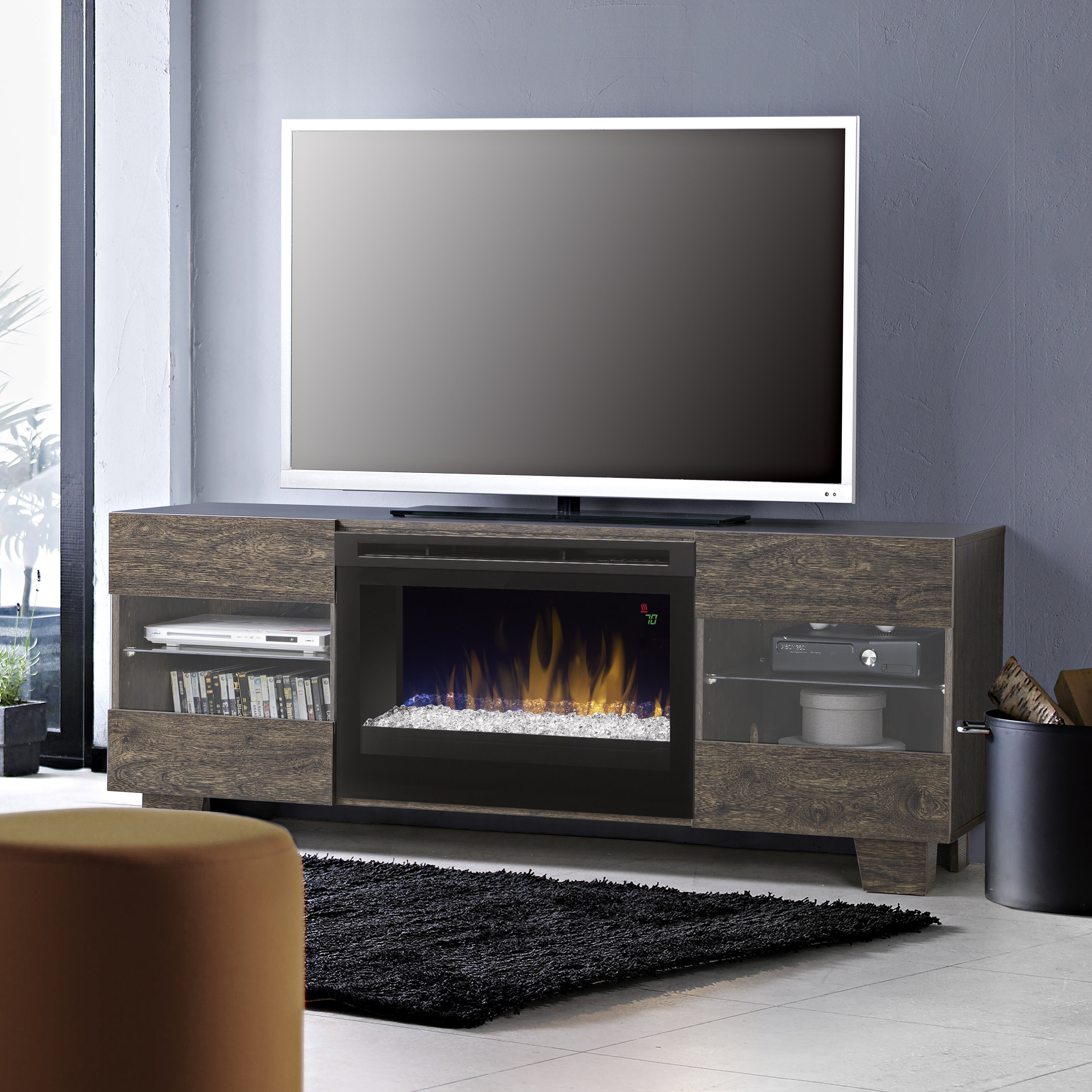 60-69 Inch Tv Stand Fireplaces You'll Love | Wayfair within Caden 63 Inch Tv Stands (Image 4 of 30)