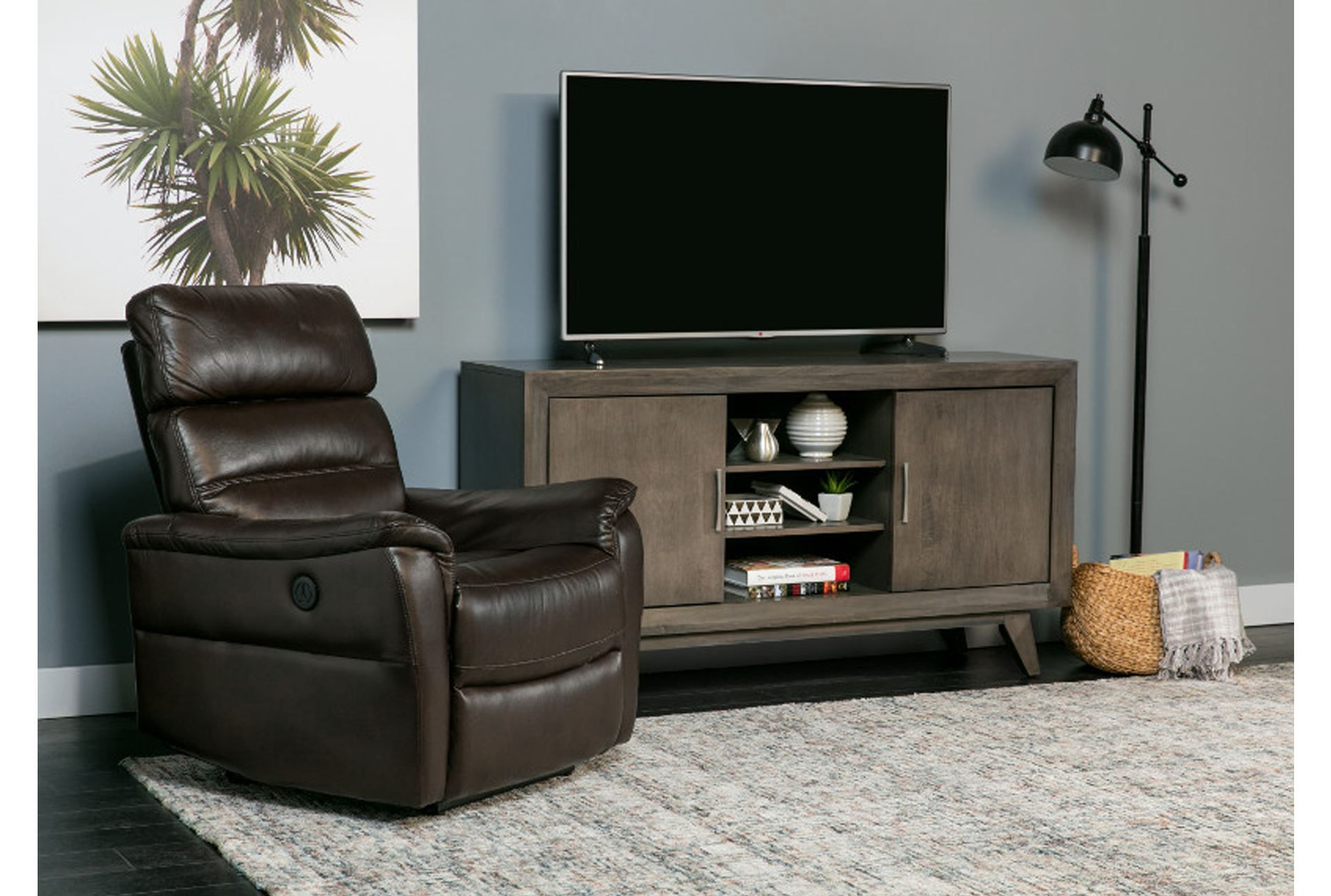60 Inch Tv Stand, Abbott Driftwood, Grey | Pinterest | 60 Inch Tvs Regarding Kai 63 Inch Tv Stands (Photo 9 of 30)
