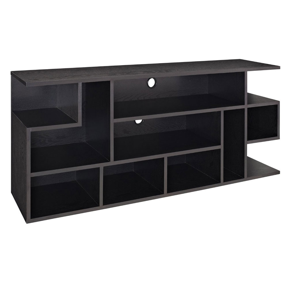 60 Inch Wood Media Console In Tv Stands in Jaxon 65 Inch Tv Stands (Image 7 of 30)