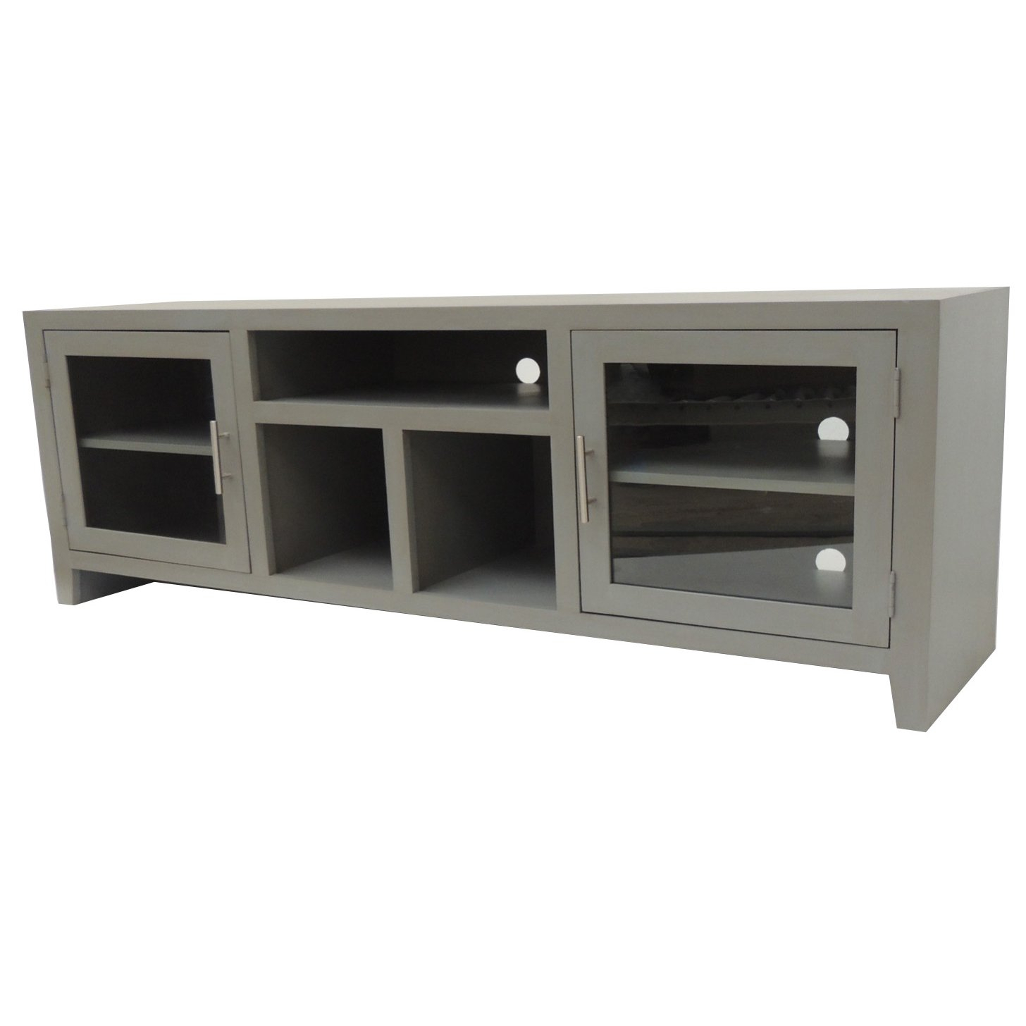 65 Inch Gray Tv Stand | Rc Willey Furniture Store In Draper 62 Inch Tv Stands (View 4 of 30)