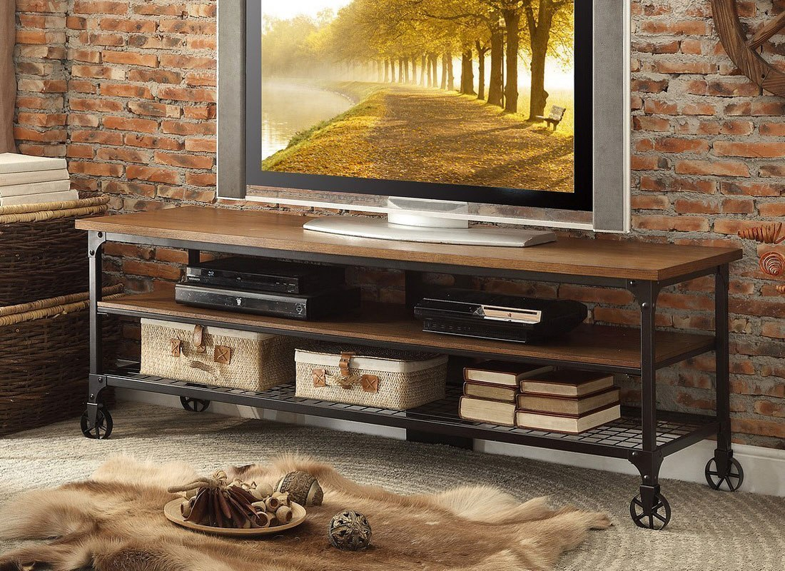 65 Inch Tv Stands Brown | Www.tollebild in Melrose Barnhouse Brown 65 Inch Lowboy Tv Stands (Image 8 of 30)