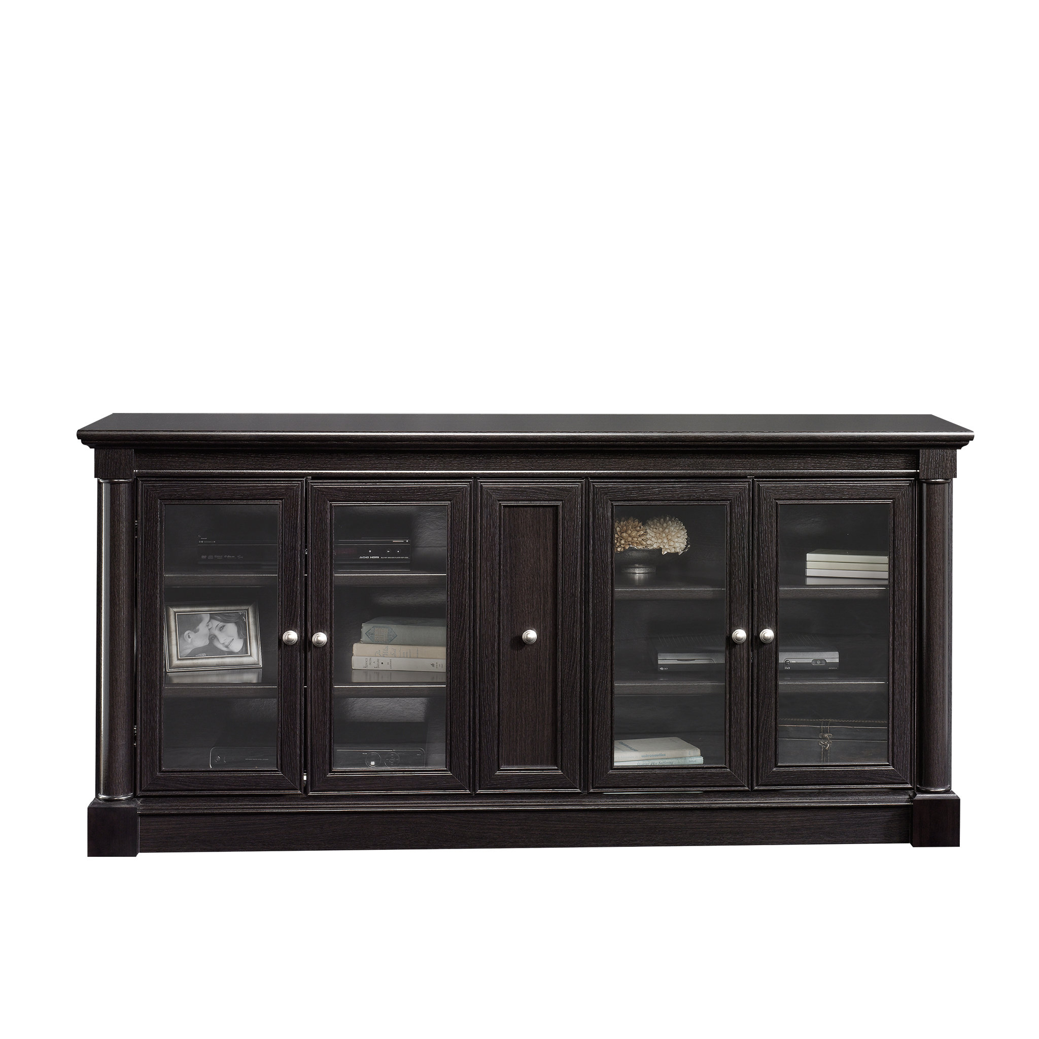 70 Inch Tv Stands | Joss & Main in Annabelle Black 70 Inch Tv Stands (Image 2 of 30)