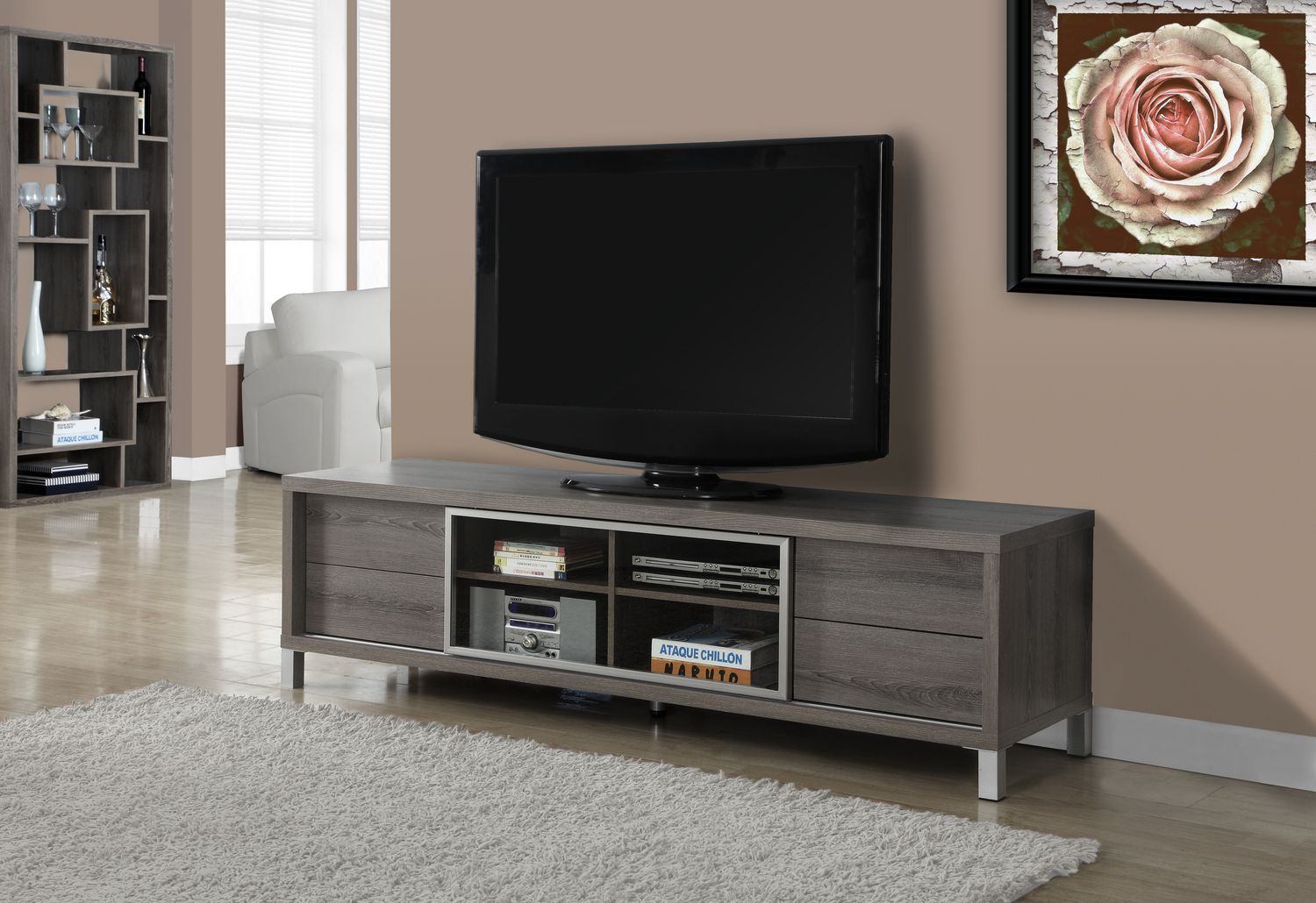 70 Inch Wide Tv Stand | Migrant Resource Network For Sinclair Grey 74 Inch Tv Stands (Photo 13 of 30)