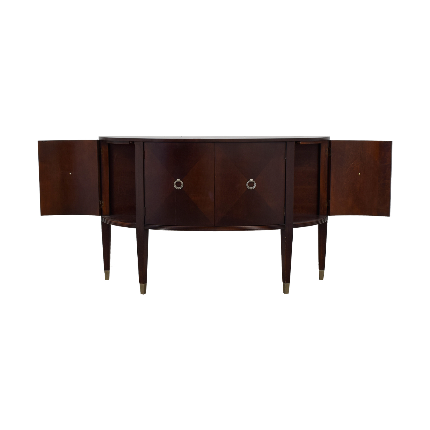 74% Off   Ethan Allen Ethan Allen Wood Buffet Console Table / Storage For Ethan Console Tables (Photo 13 of 30)