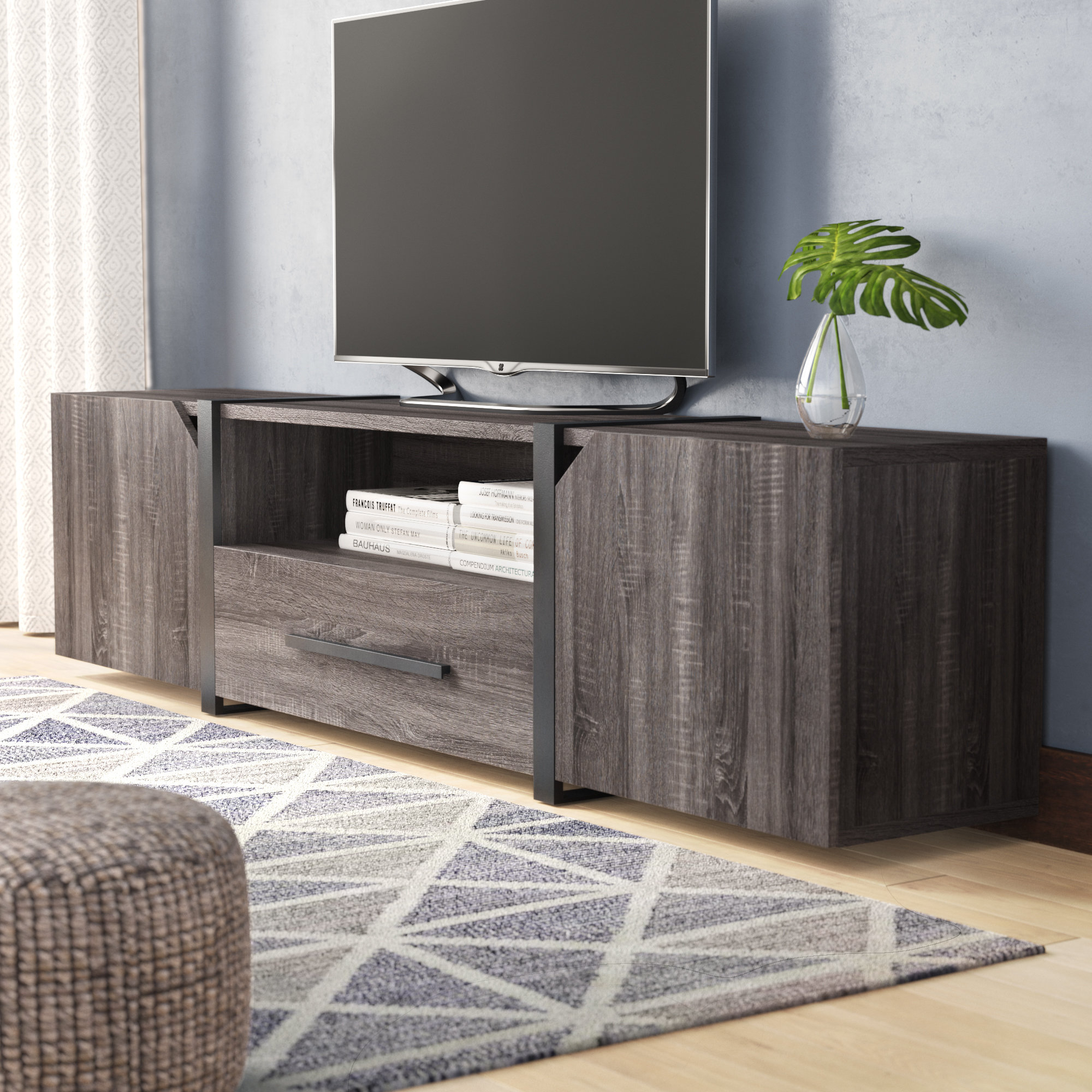 75 Inch Tv Stand | Wayfair Within Laurent 70 Inch Tv Stands (Photo 30 of 30)