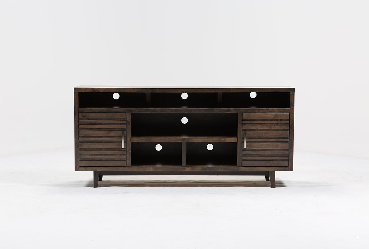 76 Inch Tv Stand, Thorndale, Grey | Pinterest | Tv Stands And Consoles with Walton 74 Inch Open Tv Stands (Image 7 of 30)