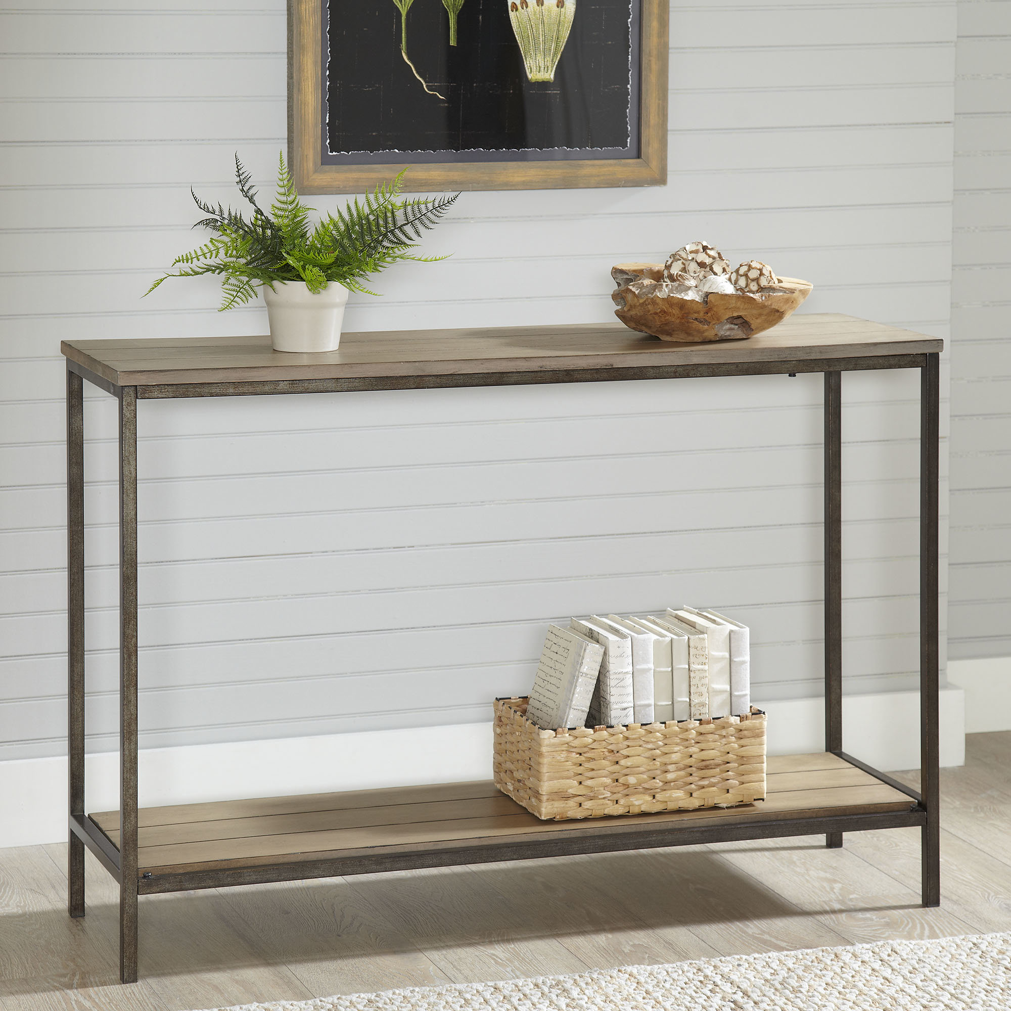 8 Inch Deep Console Table | Wayfair within Oscar 60 Inch Console Tables (Image 5 of 30)