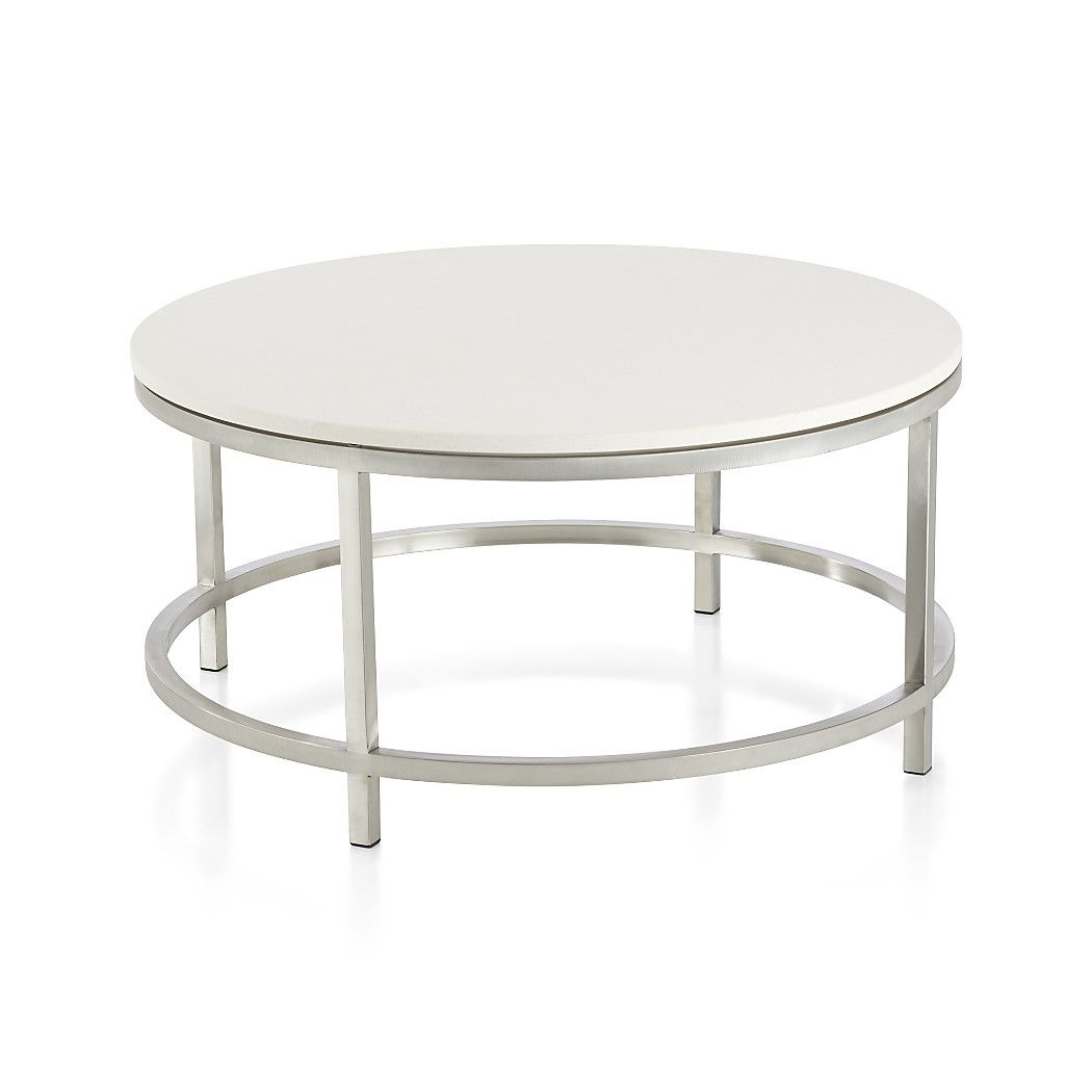 About Us | New House | Pinterest | Round Coffee Table, Table And Intended For Era Limestone Console Tables (View 3 of 30)