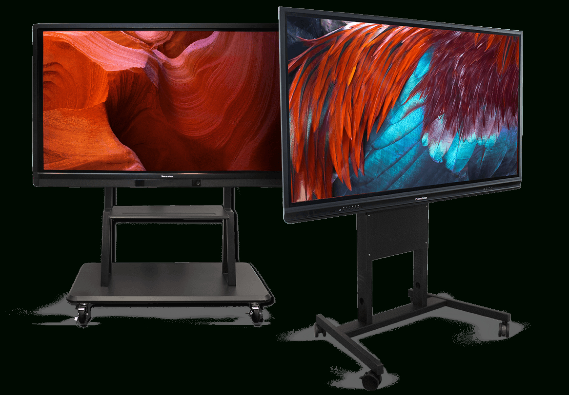 Activpanel Stands - Interactive Flat Panel Displays   Promethean inside Noah Aged Whiskey 66 Inch Tv Stands (Image 2 of 30)