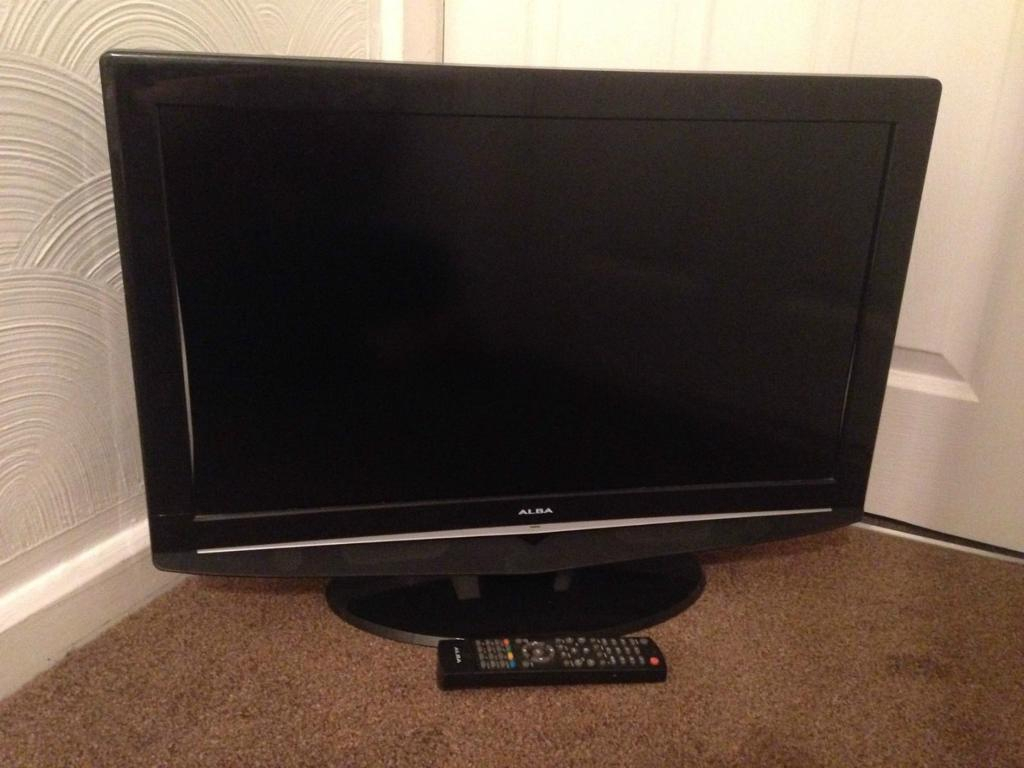 Alba 26 Inch Lcd Tv Freeview With 2 Hdmi Alba L26M1 | In Wakefield Regarding Wakefield 85 Inch Tv Stands (View 14 of 30)