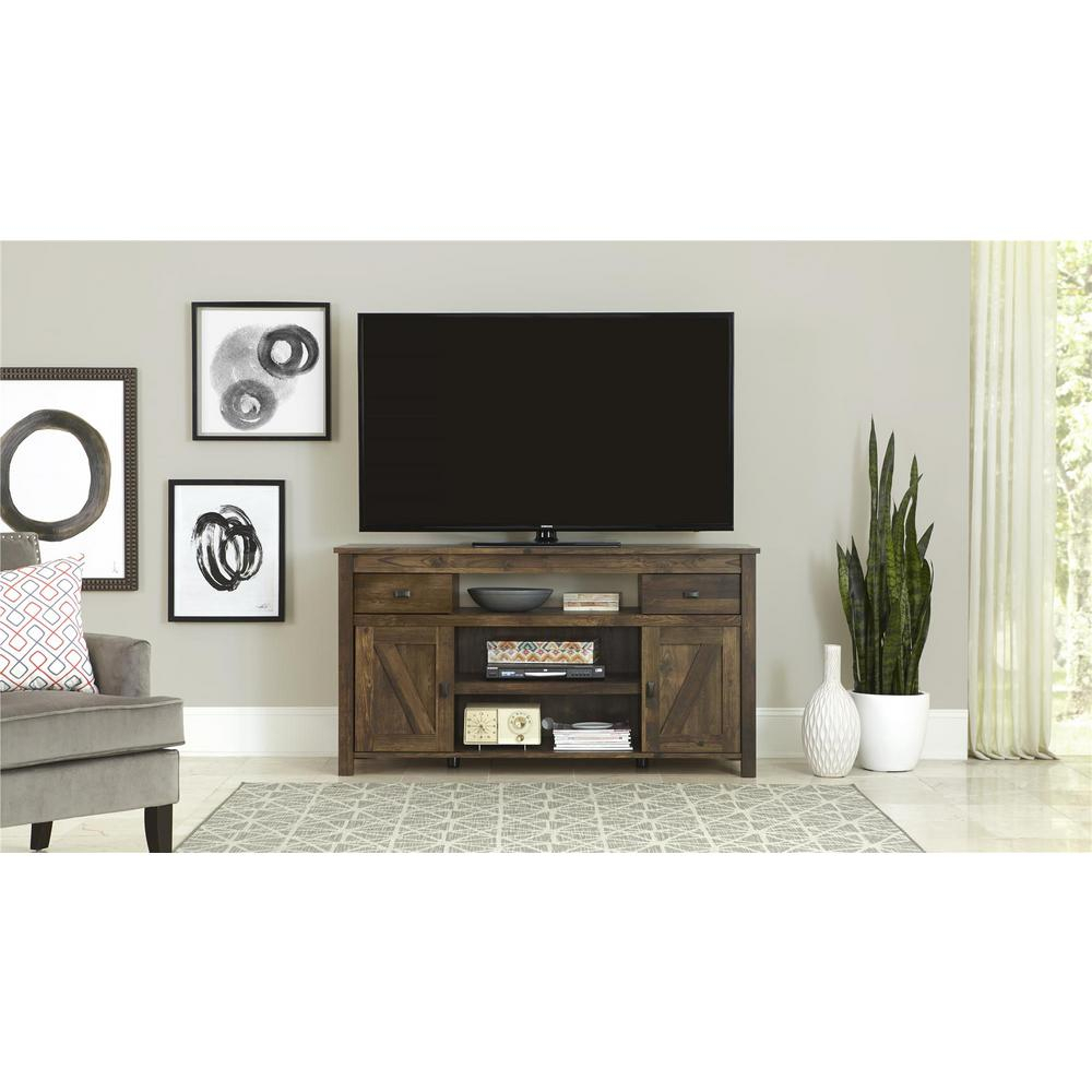 Altra Furniture Farmington Century Barn Pine Storage Entertainment Pertaining To Century Blue 60 Inch Tv Stands (View 2 of 30)