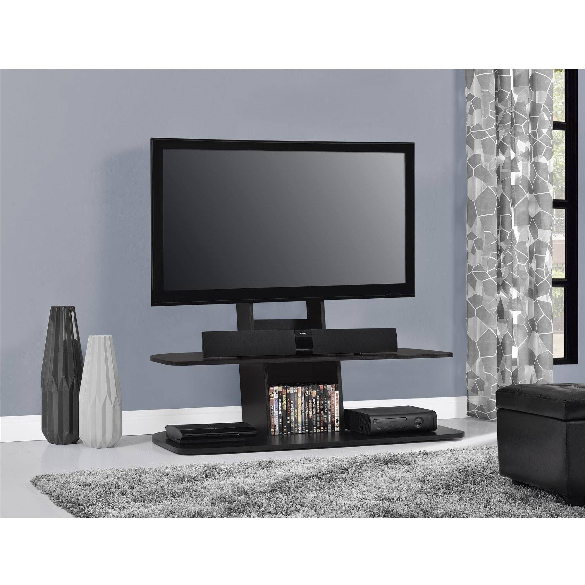 "Ameriwood Home Galaxy Tv Stand With Mount For Tvs Up To 65"" Wide With Vista 60 Inch Tv Stands (View 23 of 30)"