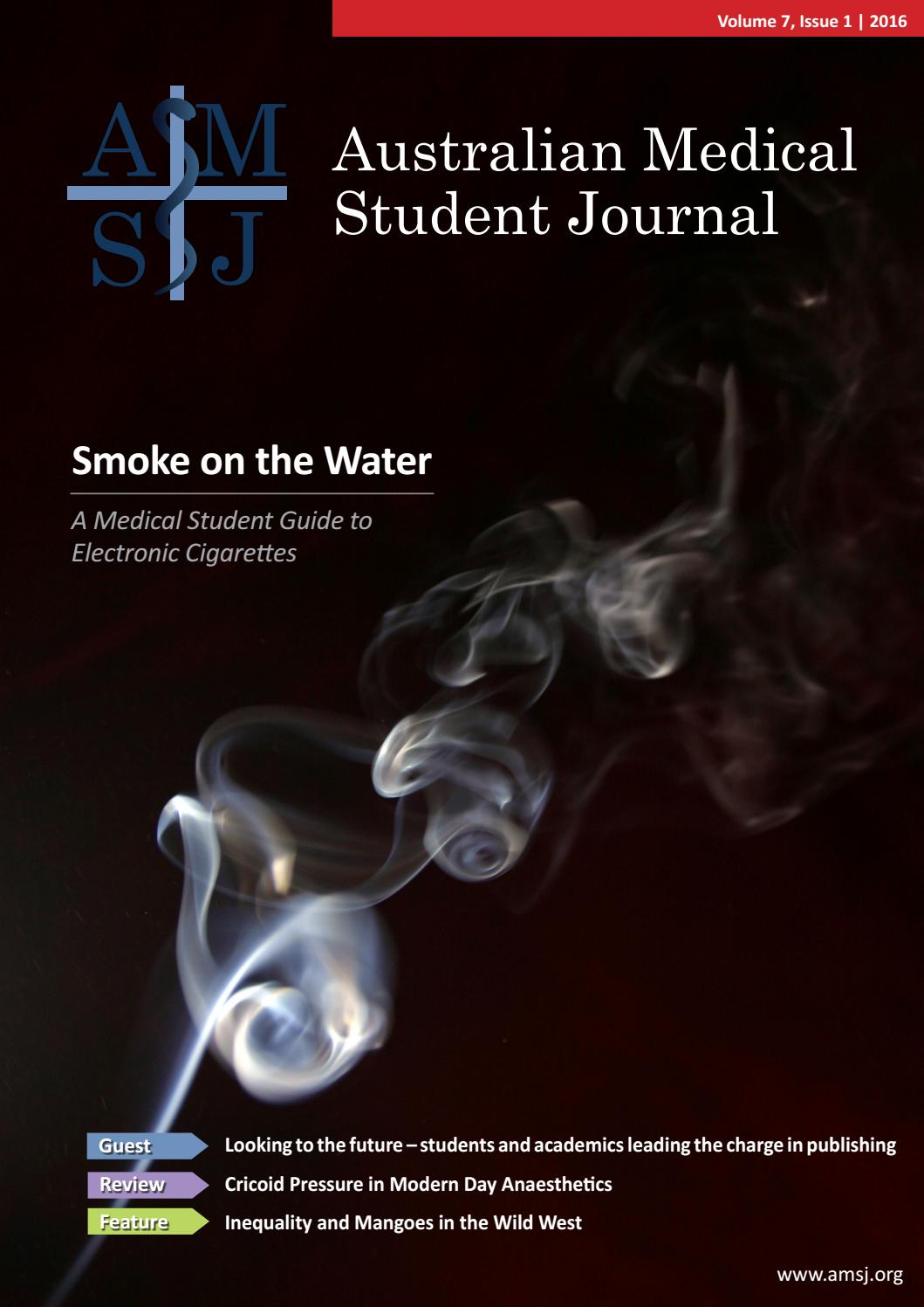Amsj Volume 7 Issue 1 2016australian Medical Student Journal – Issuu Throughout Kilian Grey 74 Inch Tv Stands (View 23 of 30)
