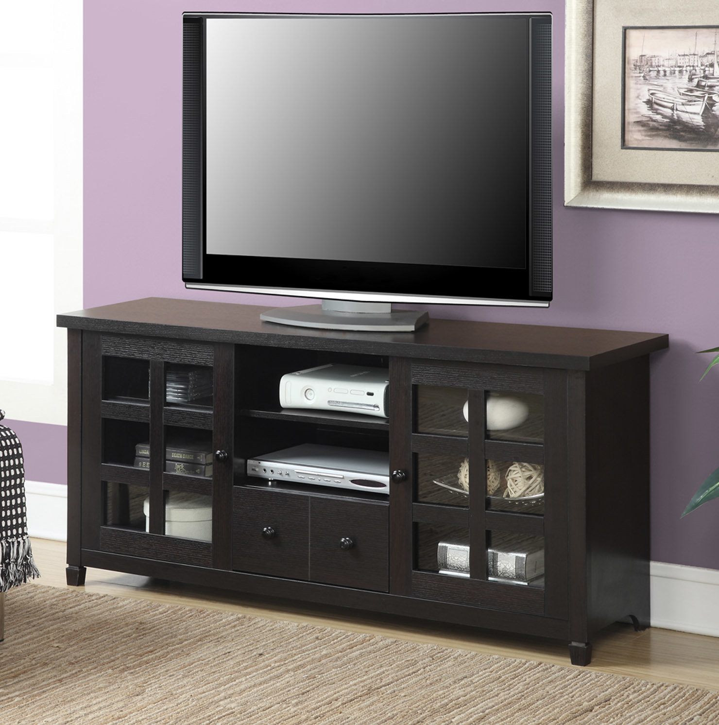 """Andover Mills Shepparton Tv Stand For Tvs Up To 60"""" & Reviews 
