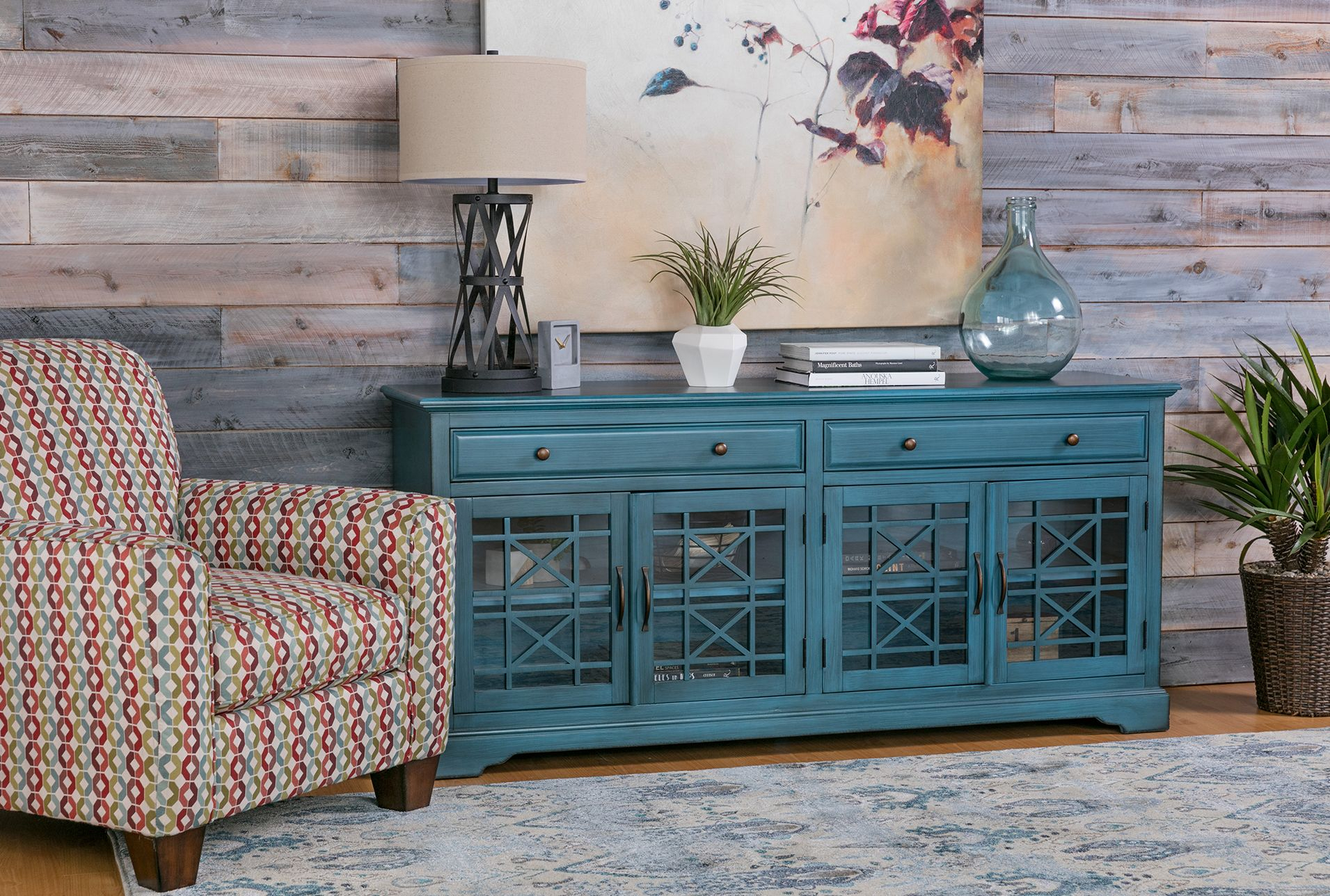 Annabelle Blue 70 Inch Tv Stand In 2018 | Products | Pinterest | 70 within Annabelle Blue 70 Inch Tv Stands (Image 3 of 30)