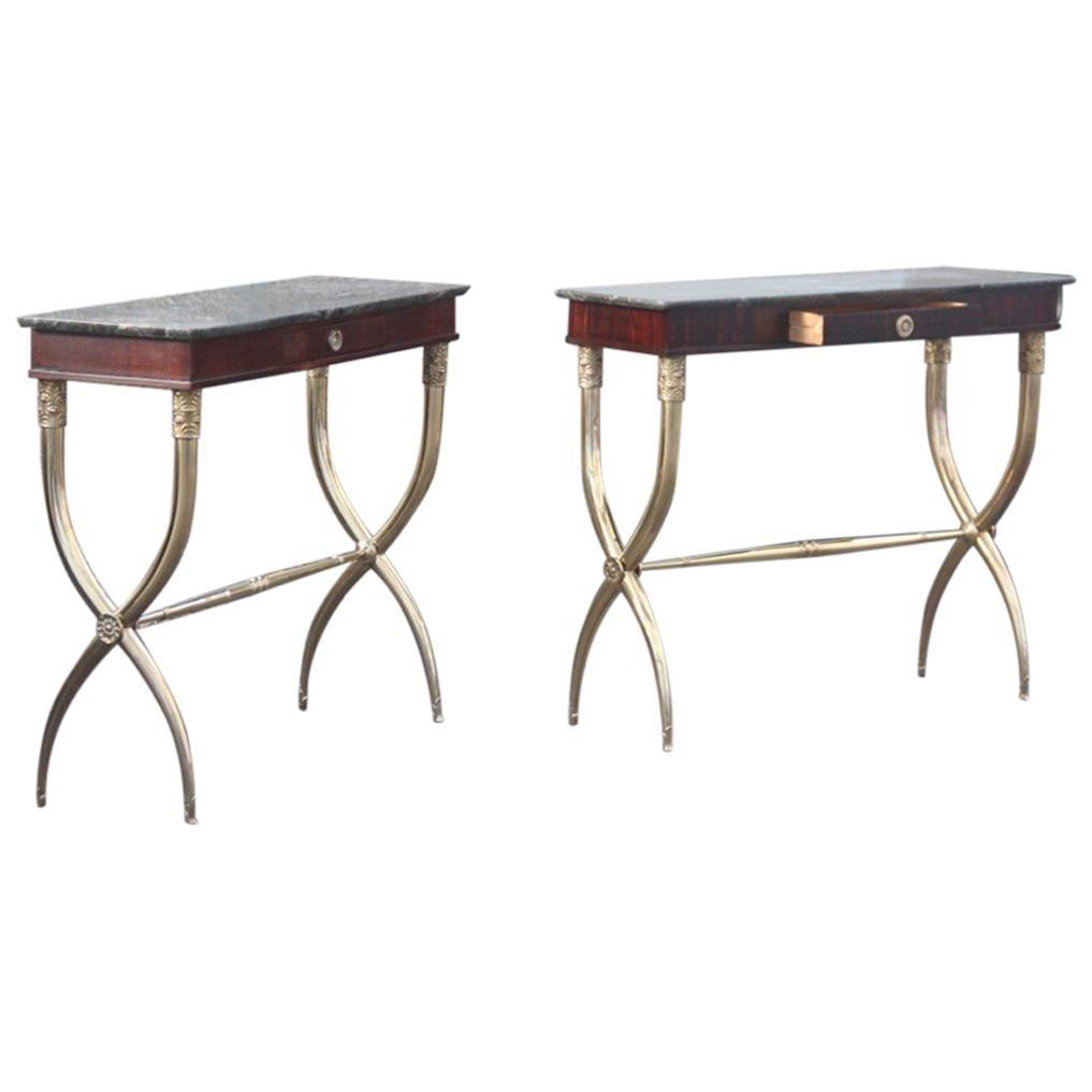 Antique Console Tables For Sale In Europe - 1Stdibs within Mix Agate Metal Frame Console Tables (Image 5 of 30)